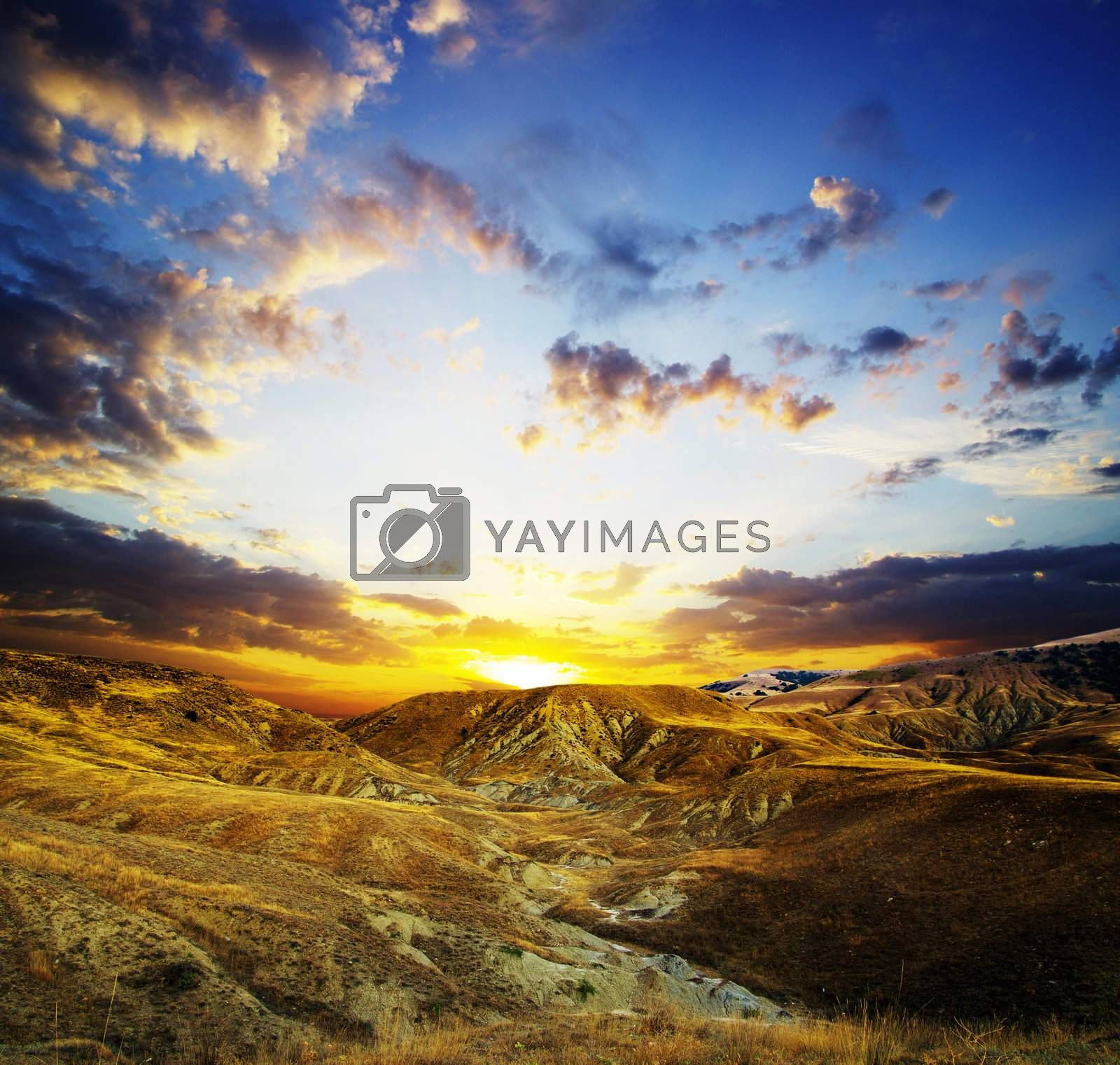 mountain landscape in nice day
