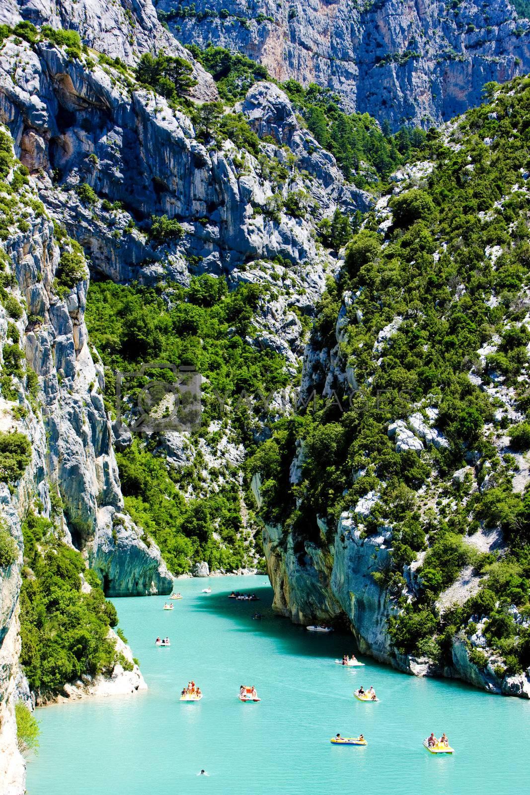 Royalty free image of St Croix Lake, Les Gorges du Verdon, Provence, France by phbcz