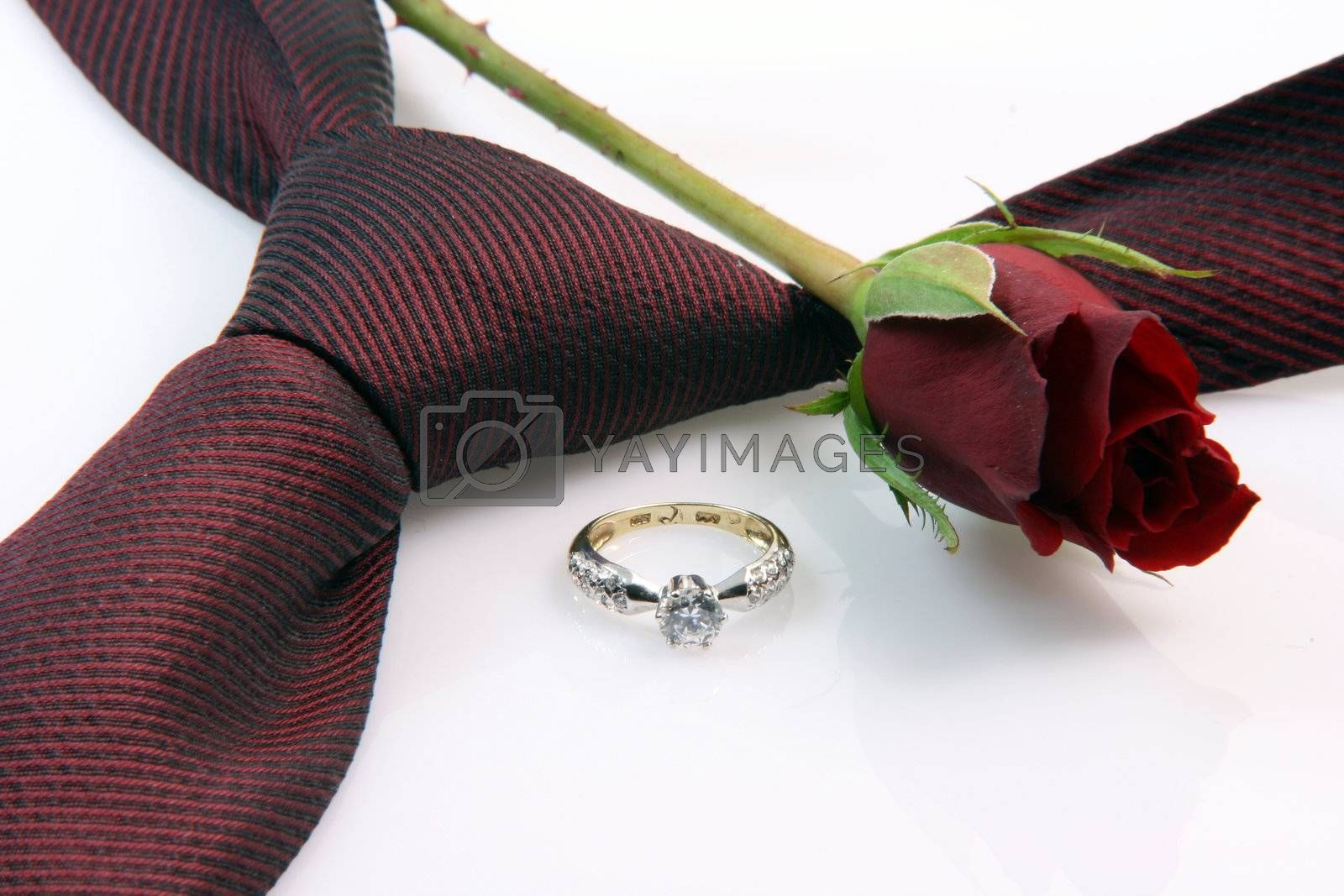 Royalty free image of anniversary and romance by forwardcom