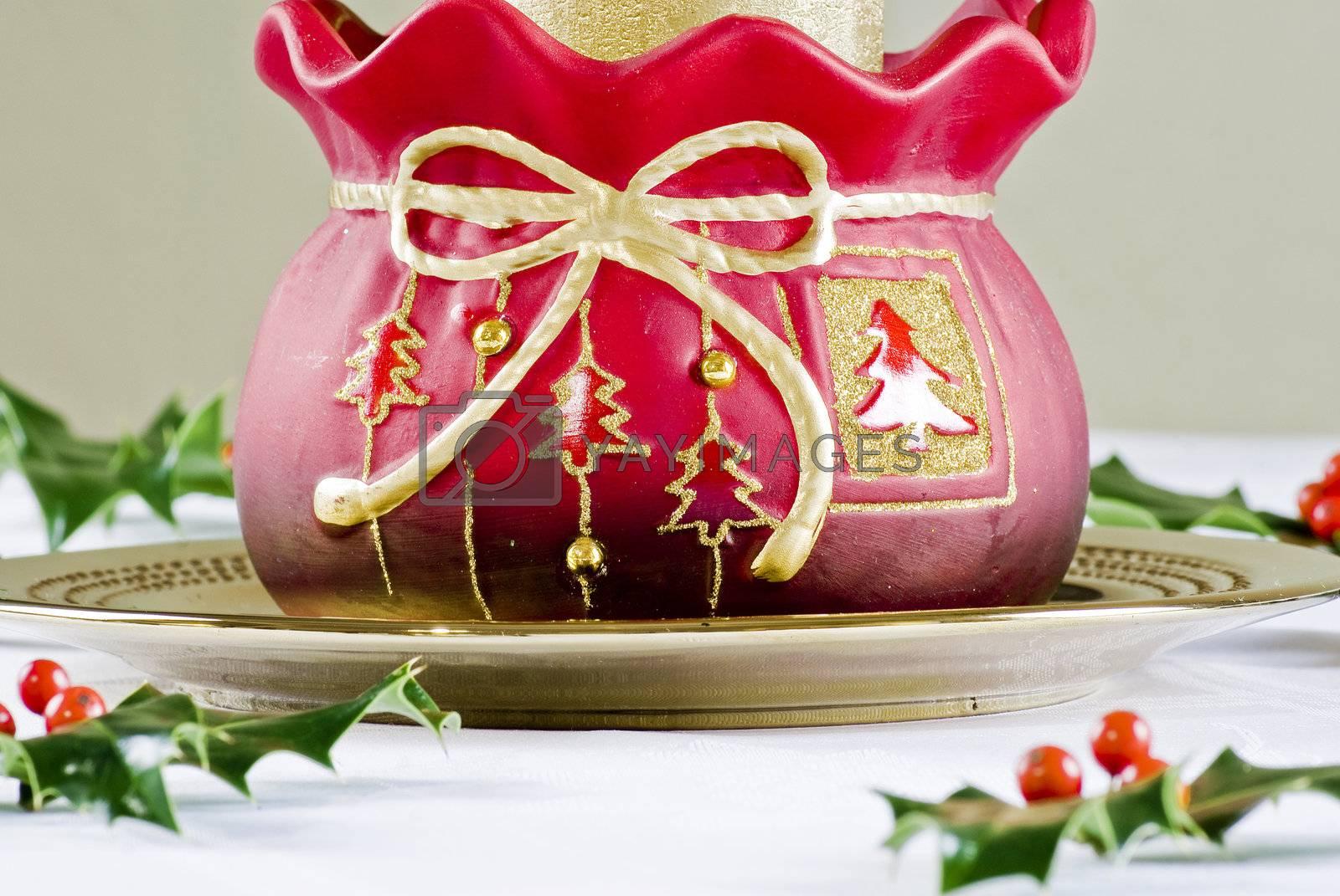 Christmas decoration by caldix