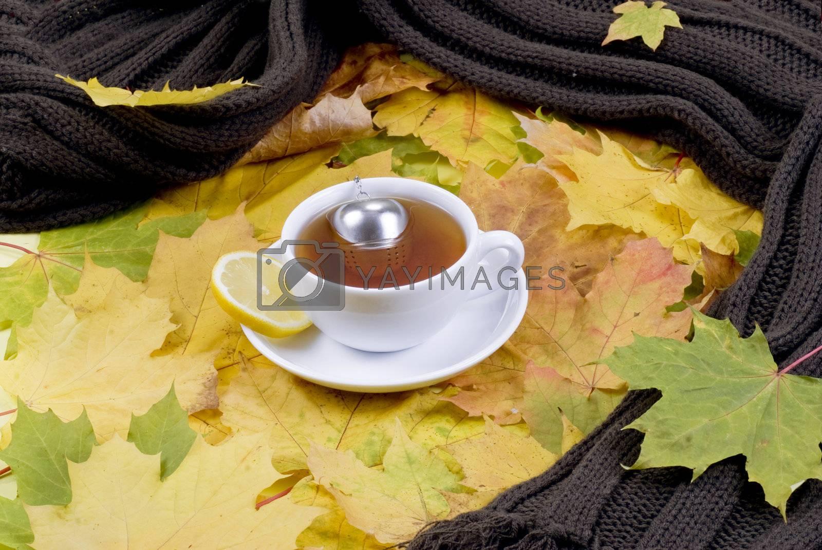 Autumn tea by caldix