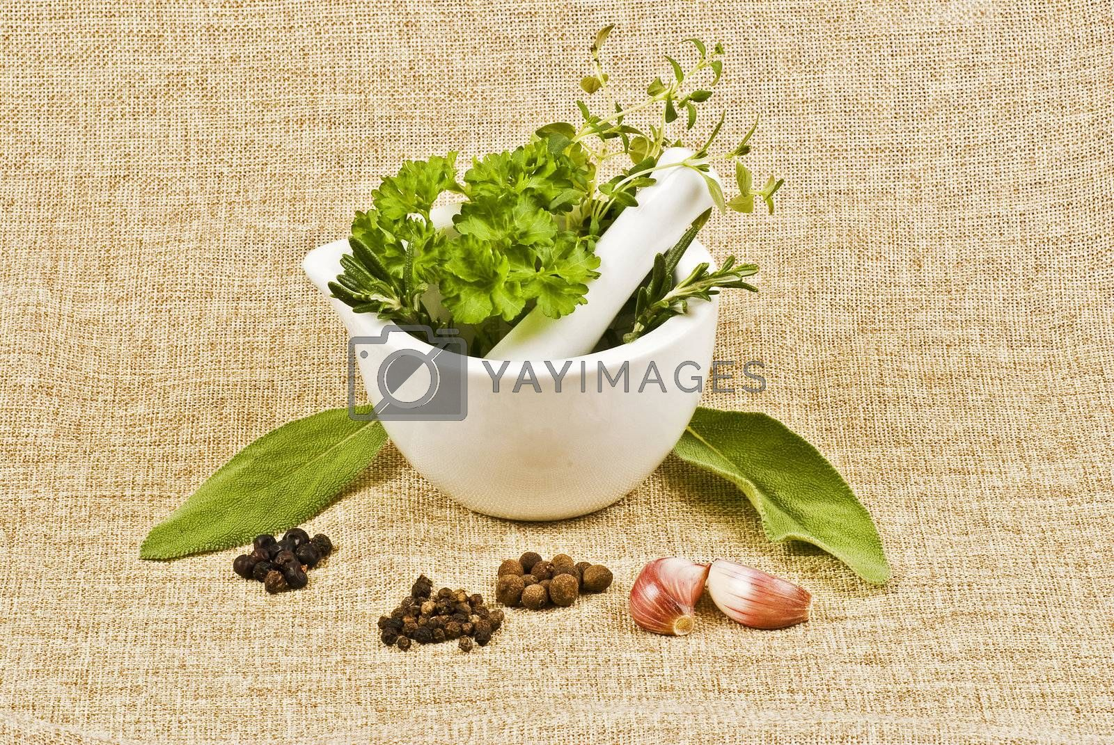 Herbs by caldix