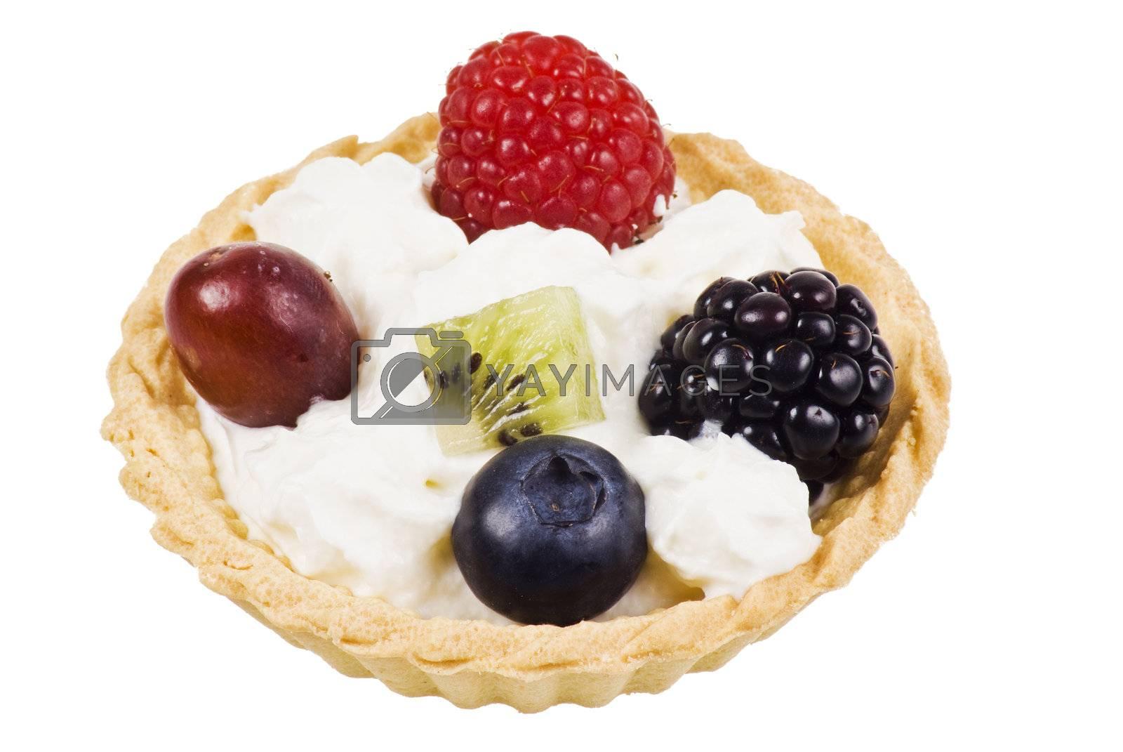 Fruits dessert by caldix