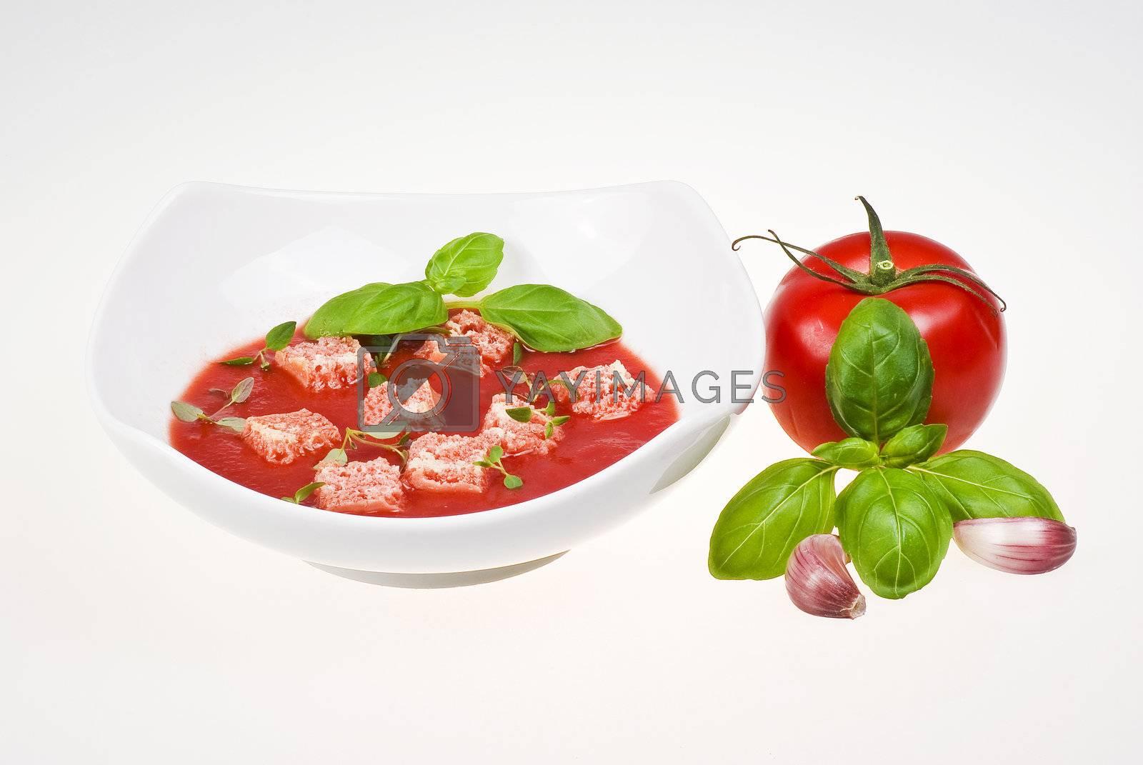 Tomato soup  by caldix