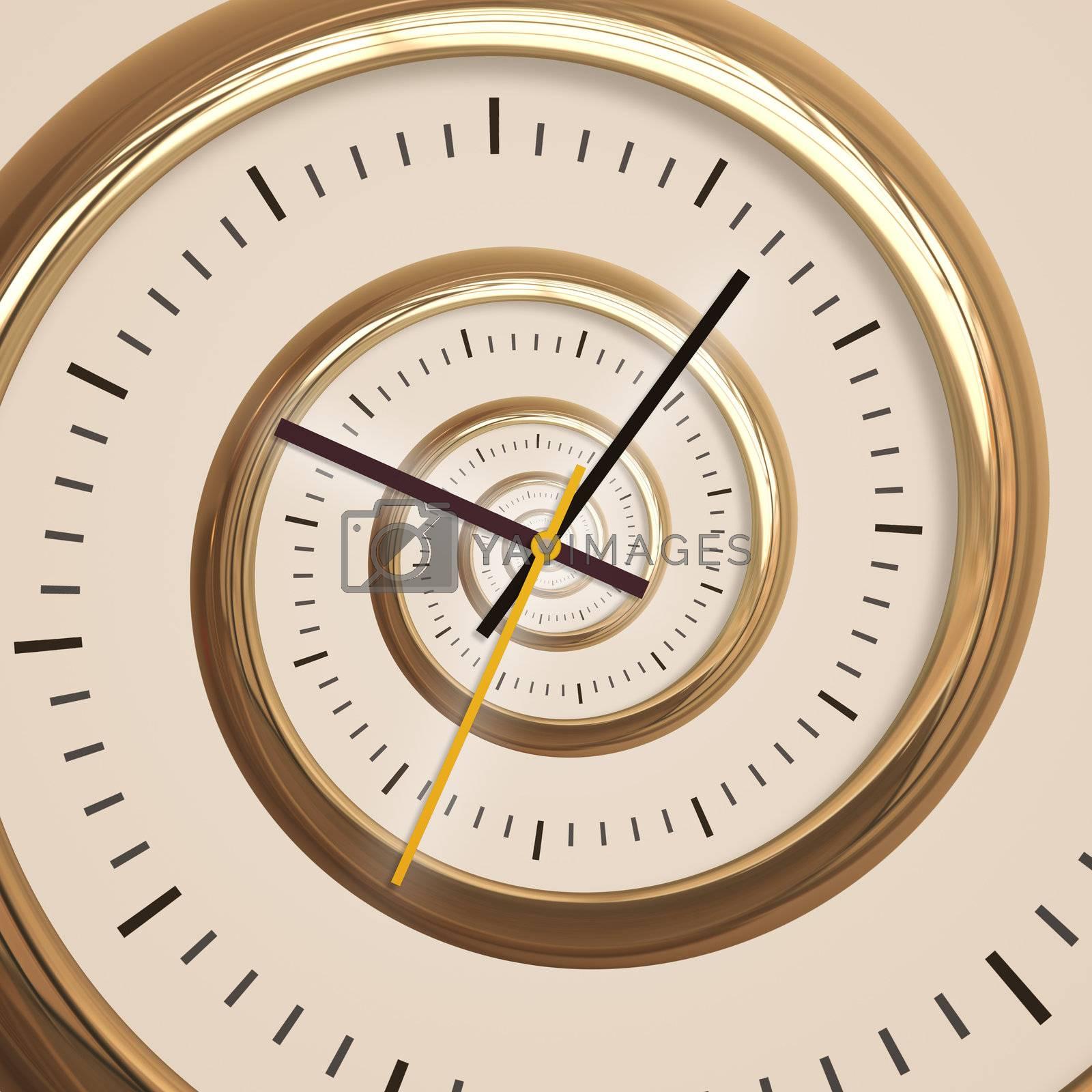 droste spiral time by magann