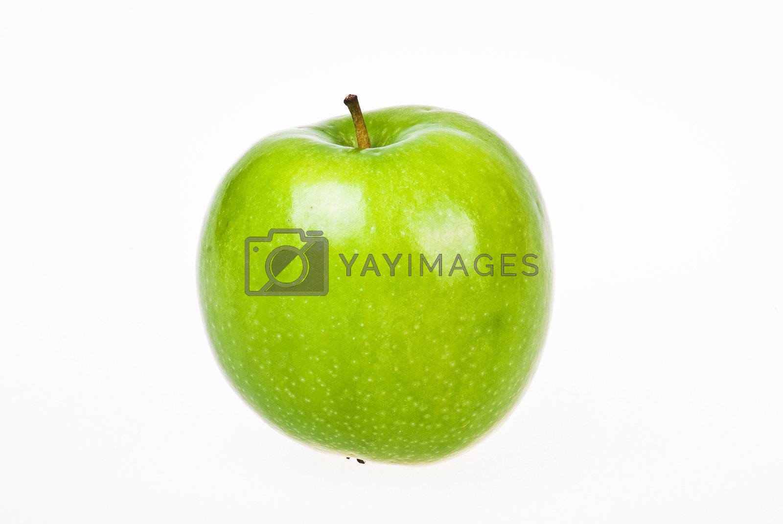 Green apple by caldix