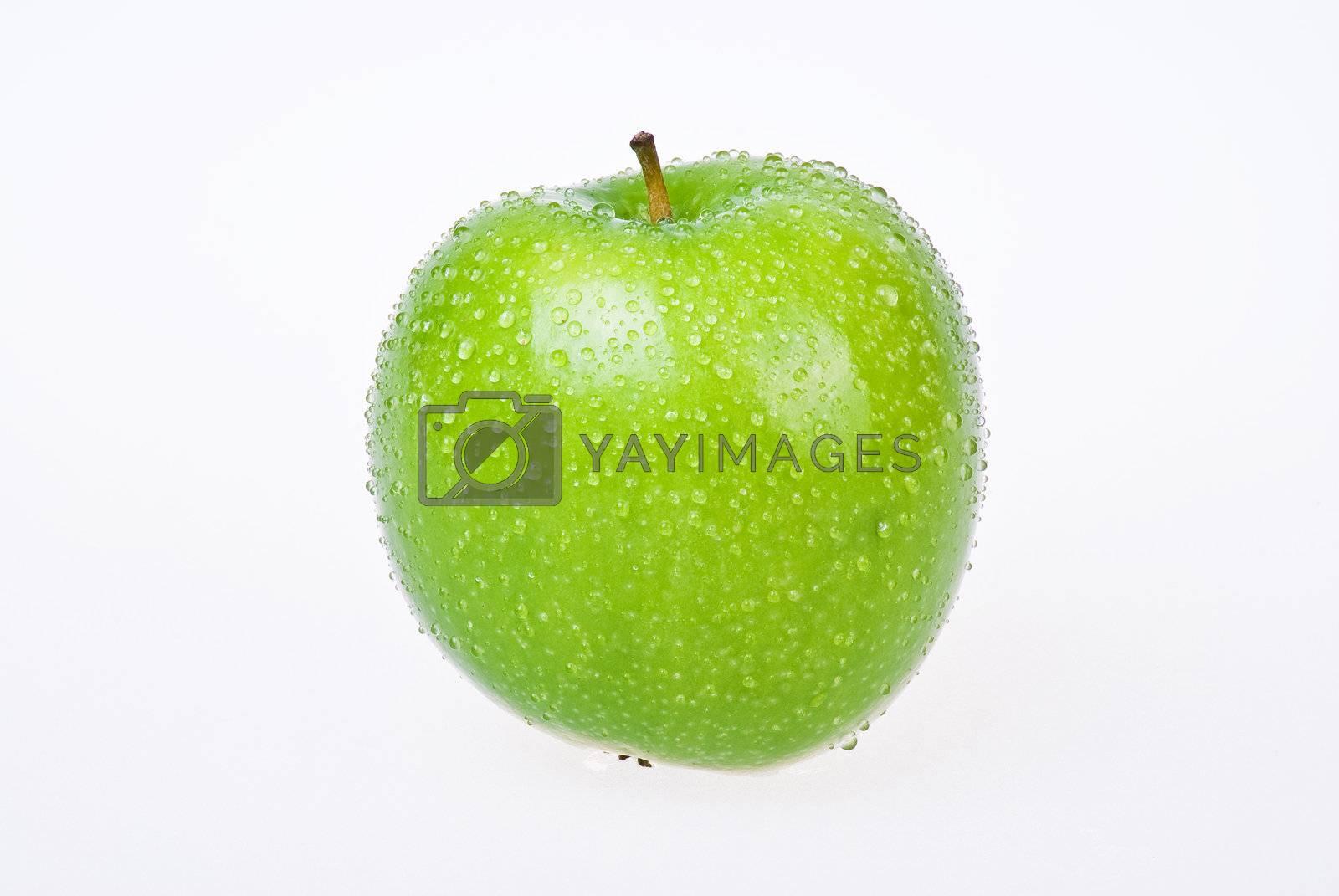 Green apple by caldix