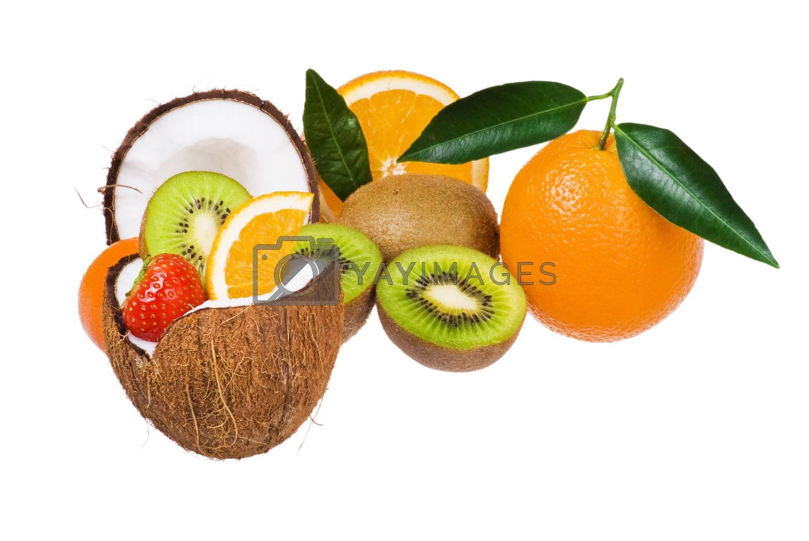 Exotic fruits by caldix