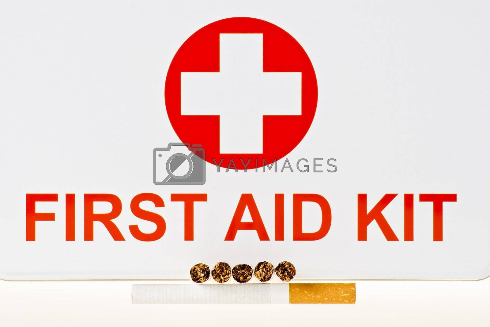 Stop smoking first aid kit by caldix