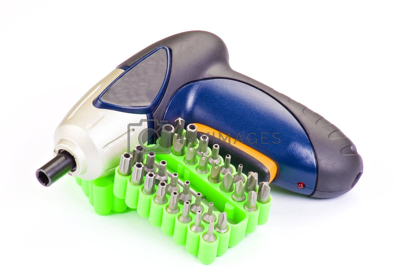 Screwdriver tool kit by caldix