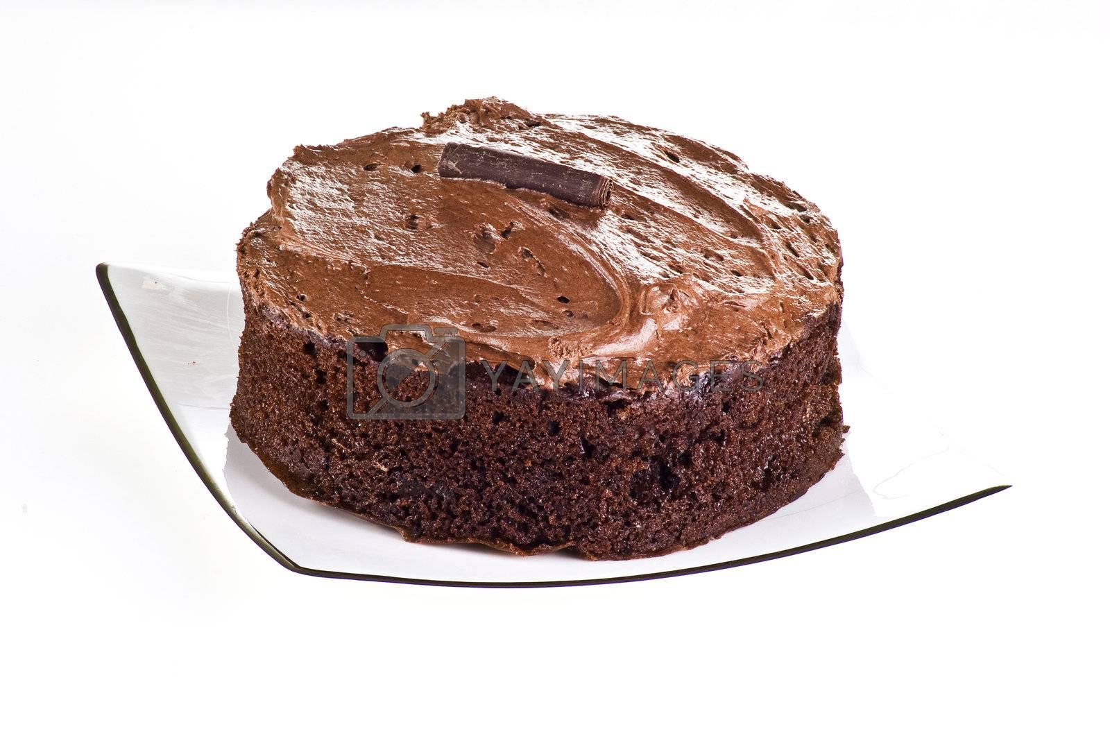 Chocolate cake by caldix