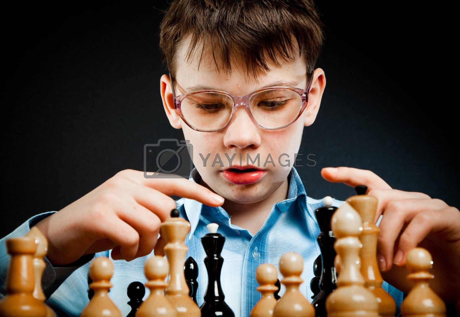 wunderkind play chess by cookelma