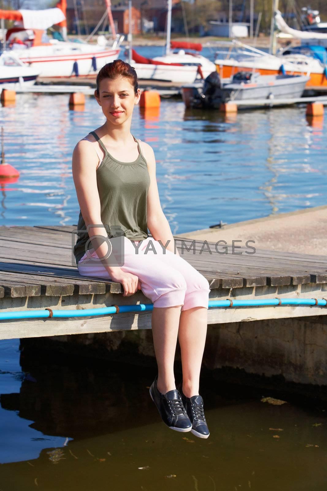 Royalty free image of Teenage Girl by Luminis