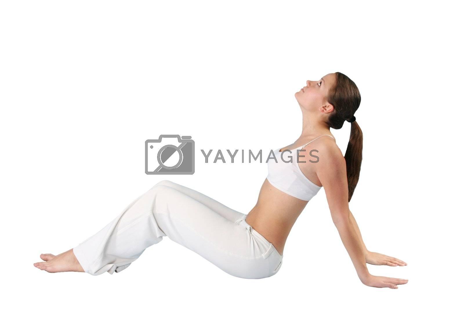 lifestyles females beautiful exercising portraits pilates beauty