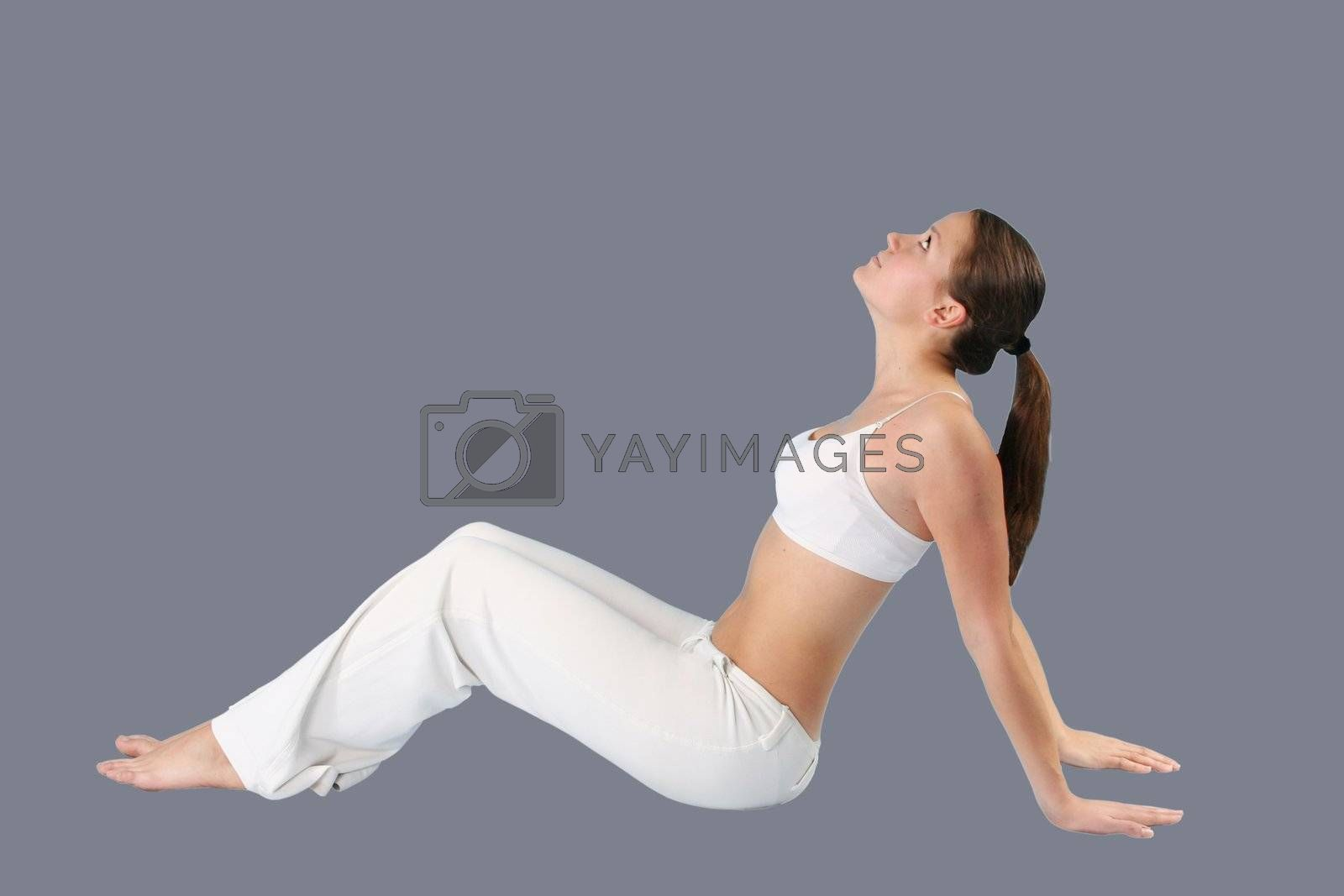 gray lifestyles females beautiful exercising slim body fitness