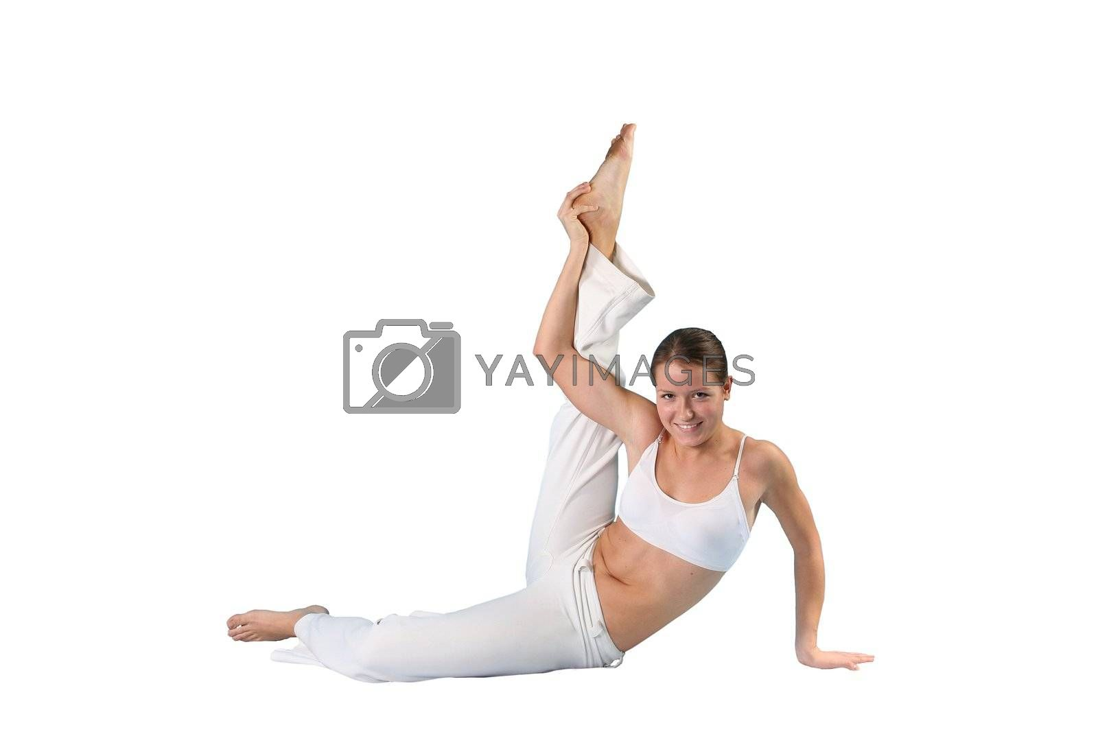 model instructor professional portraits pilates beauty slim