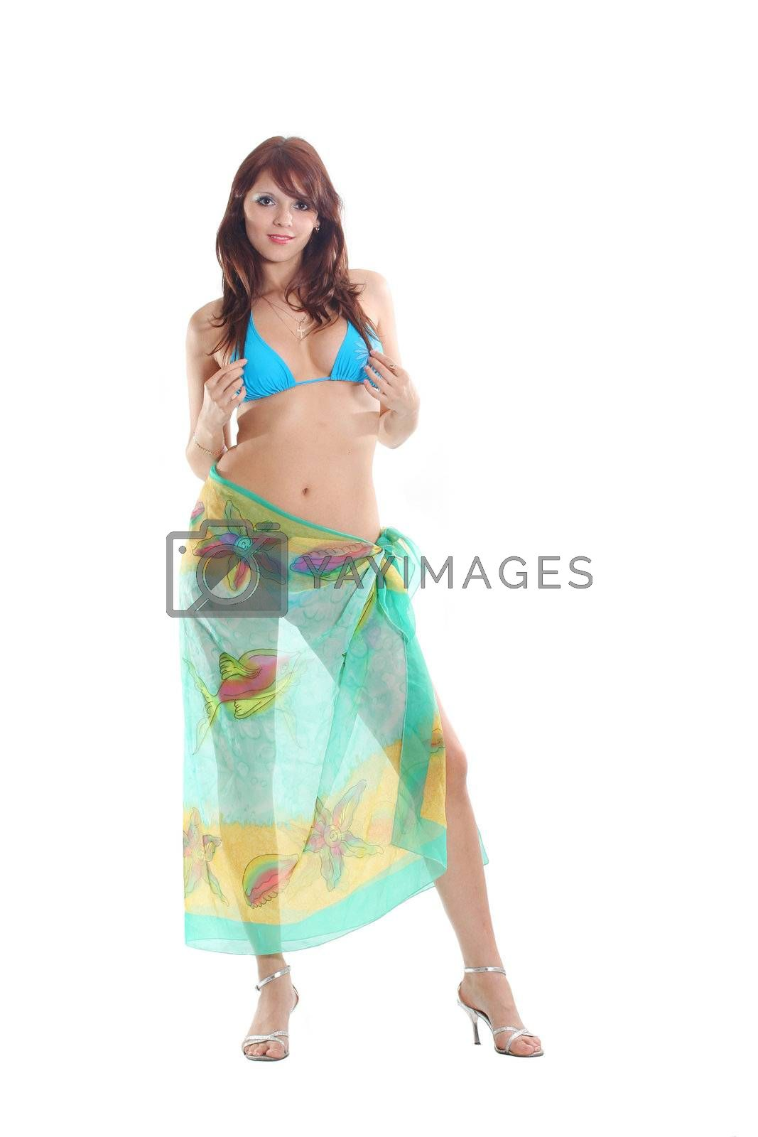 bikini body human women beauty attractive isolated