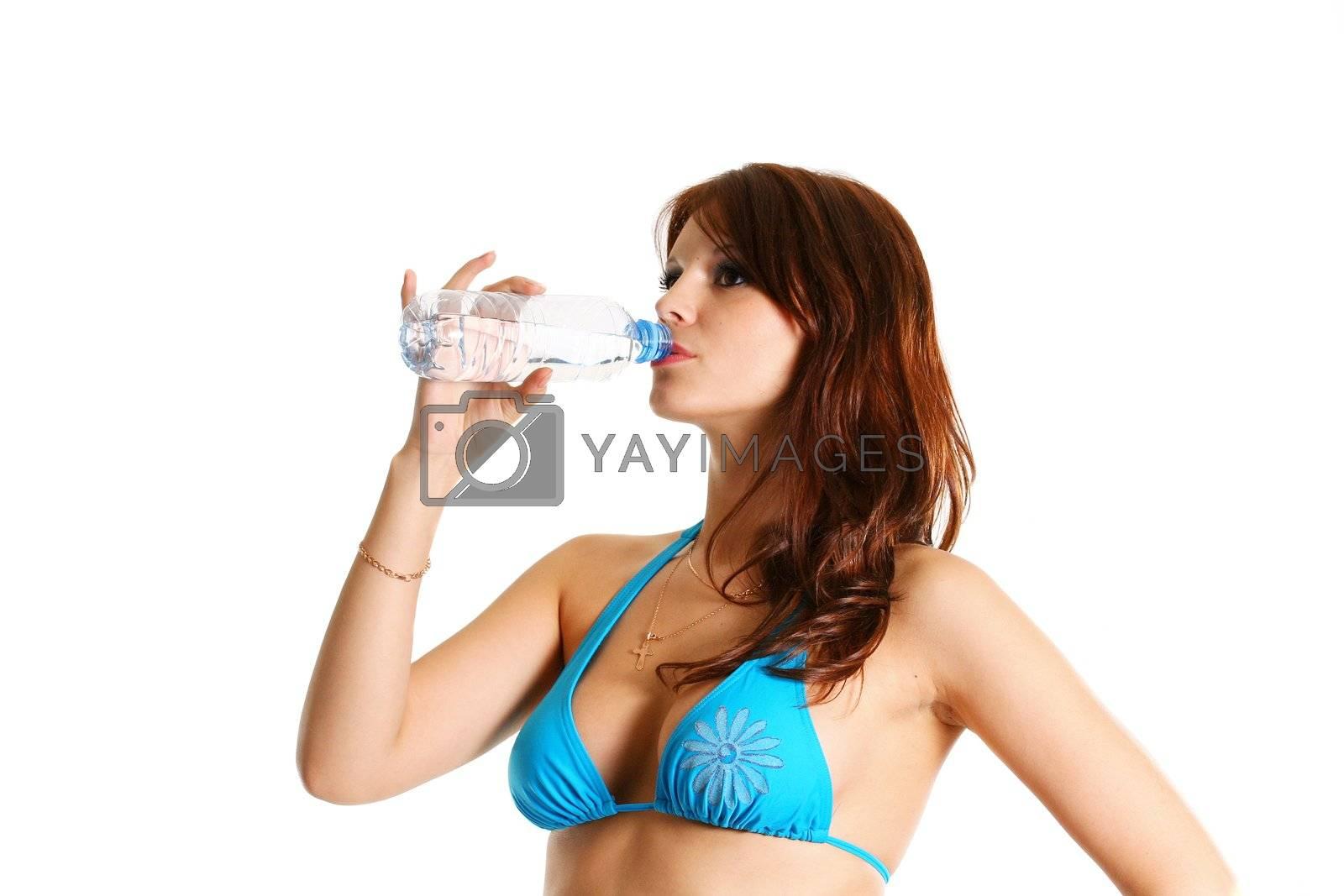bikini body human women beauty drink water