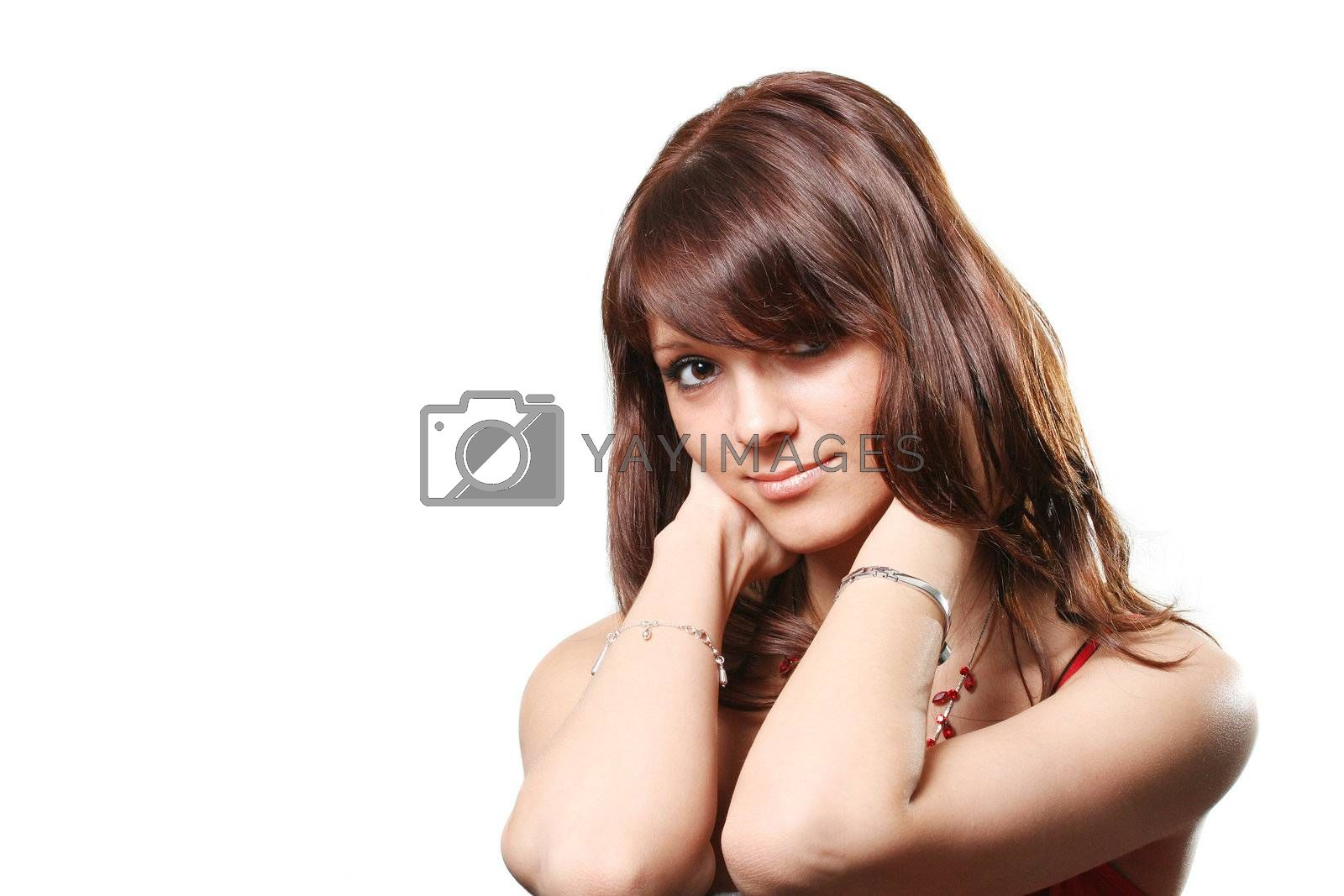 adult people one face hair females portrait