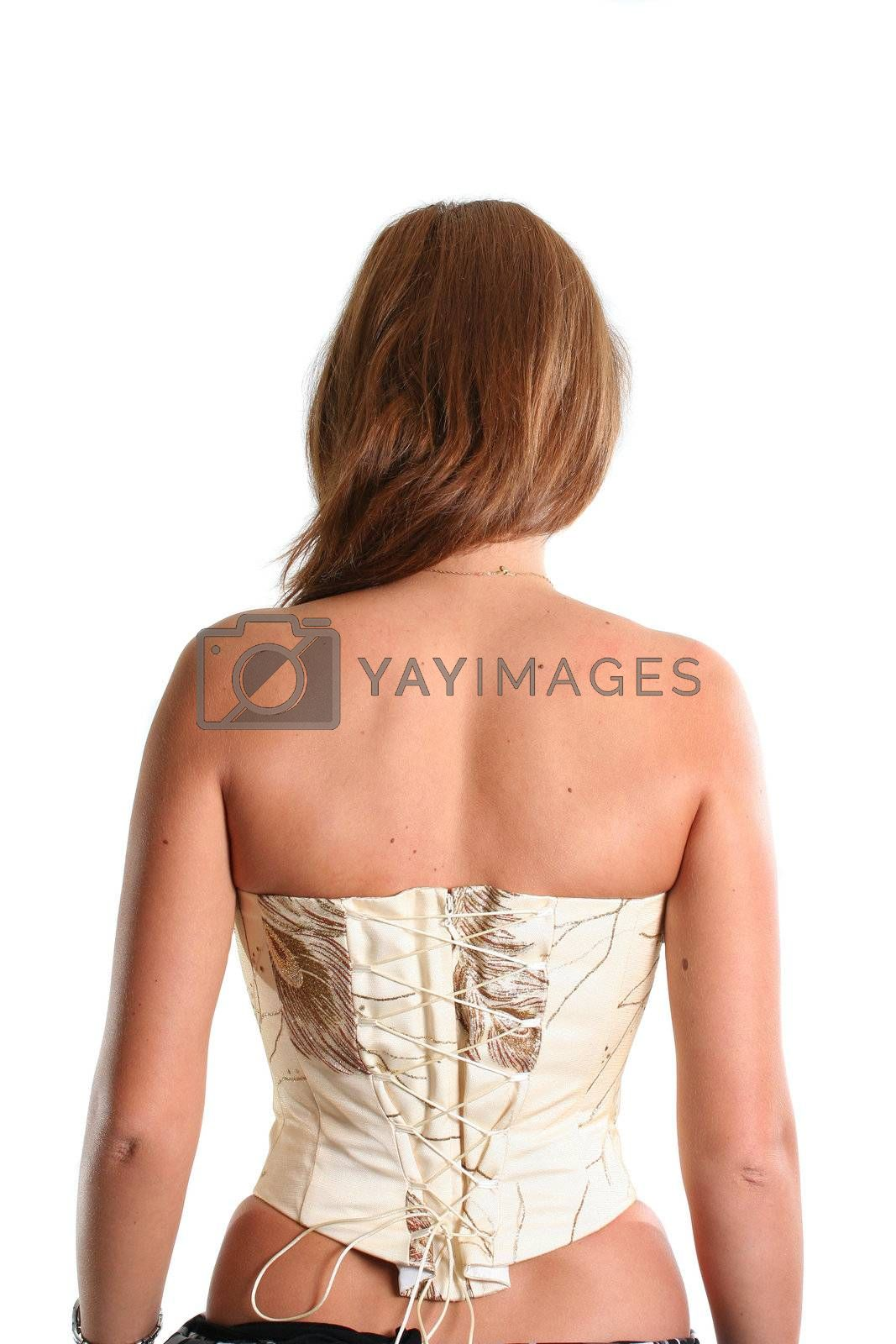 corset fetishes back slim abstract lingerie women