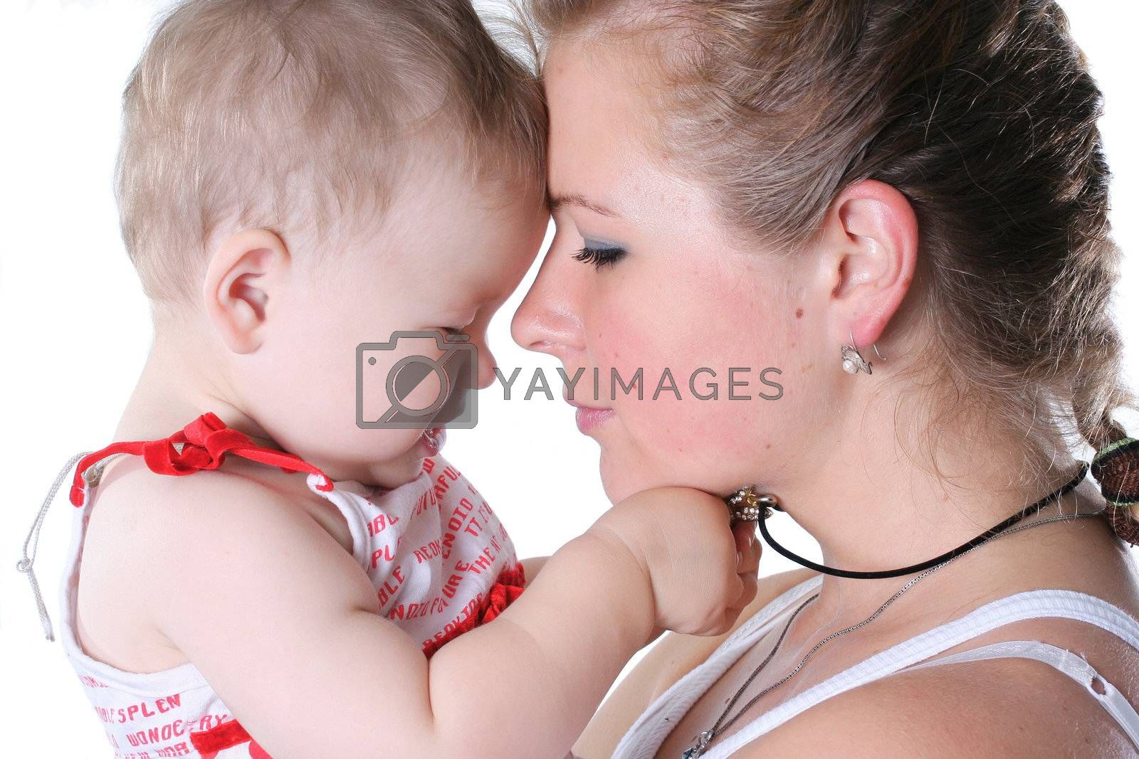 mothers people family females  daughter young