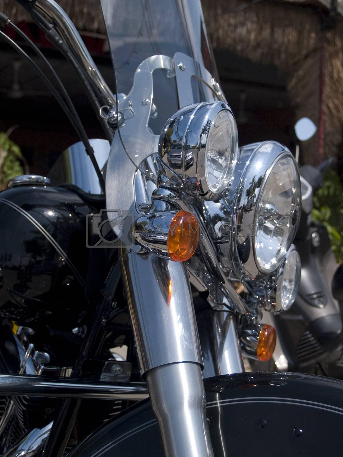 Detail of bike motorcycle by epixx
