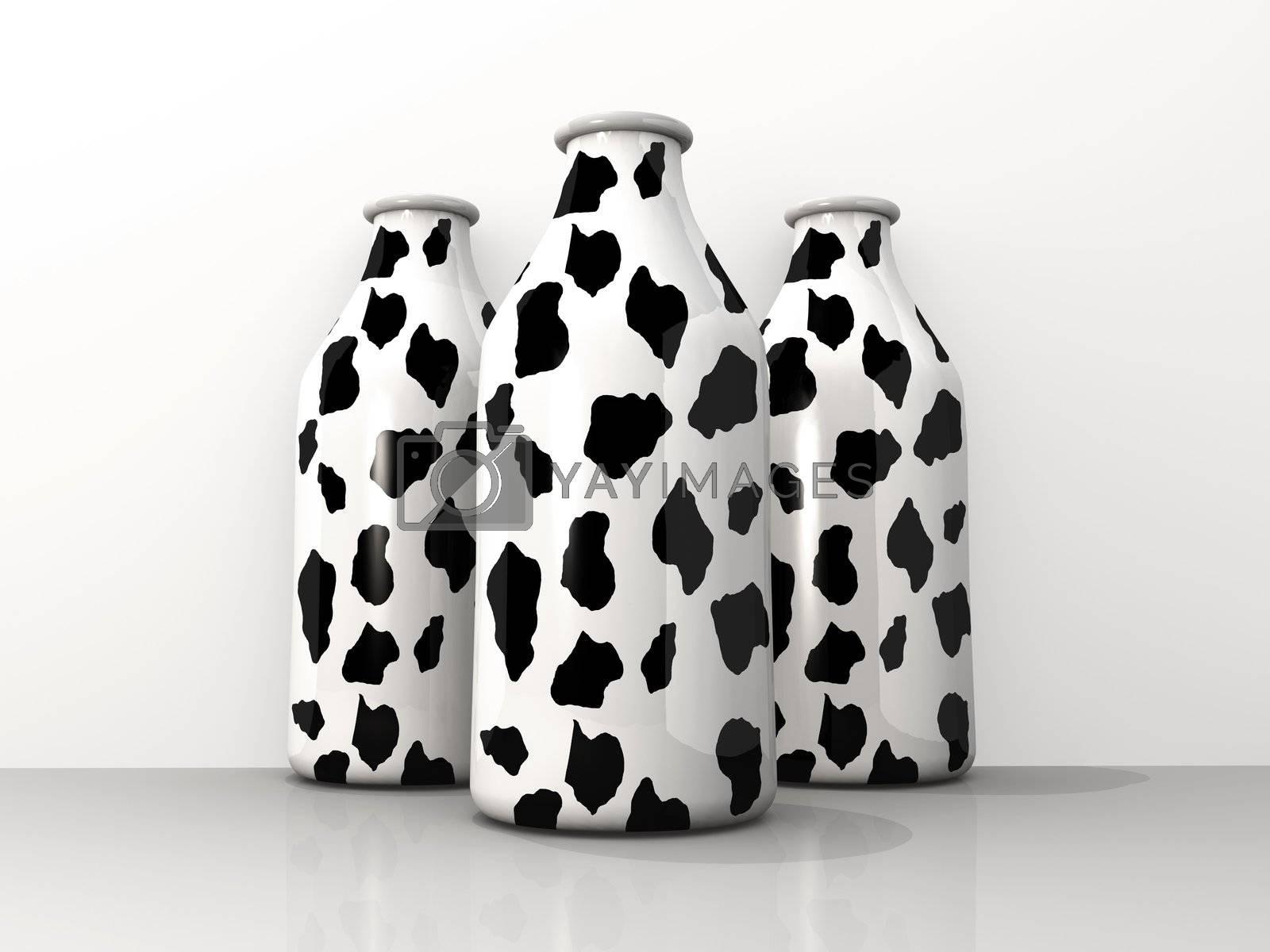 Milk Bottles by 3pod