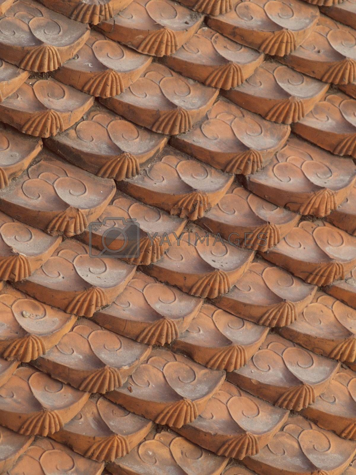 Ornamented roof tiles by epixx