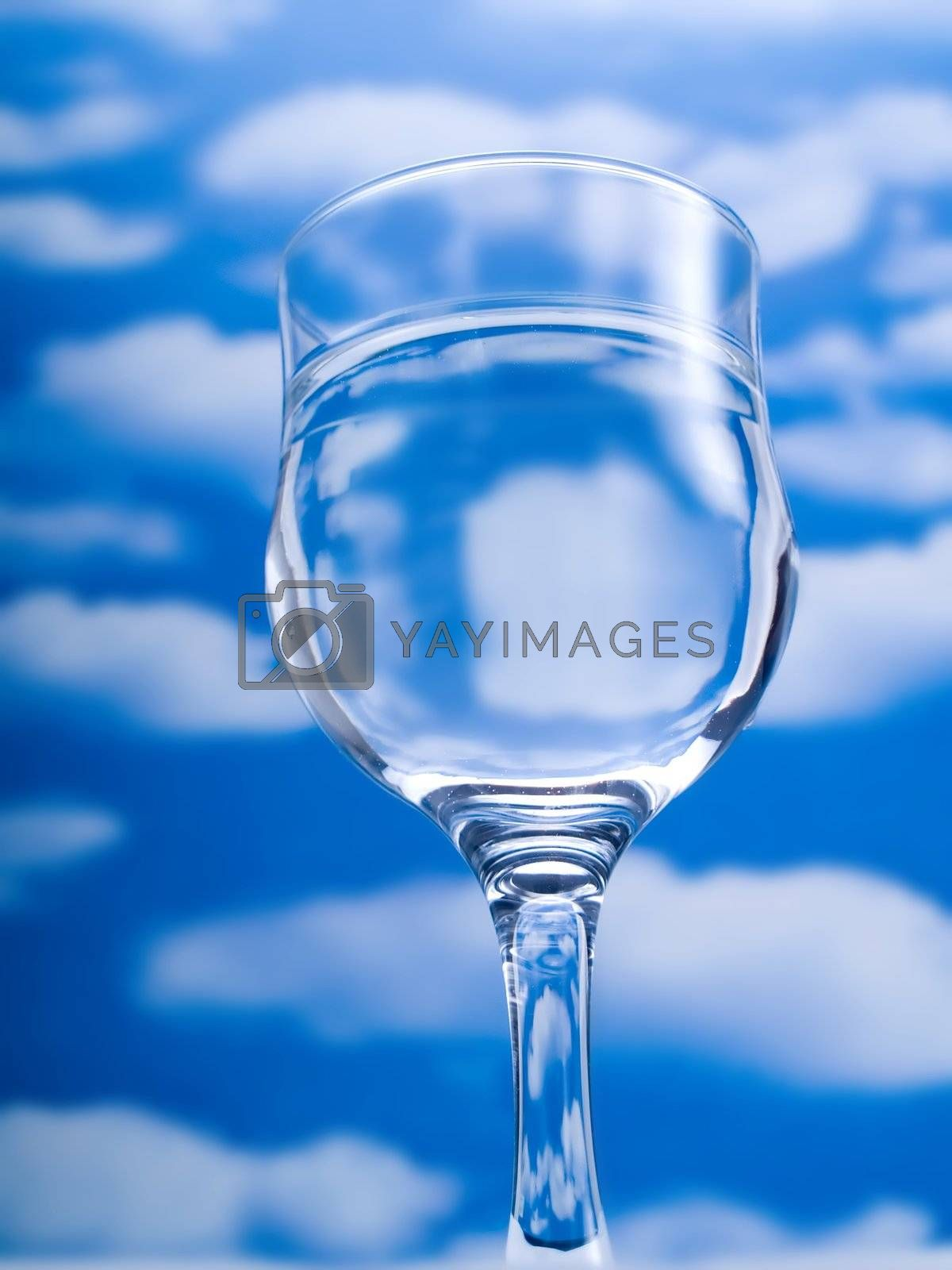 Glass of water by henrischmit