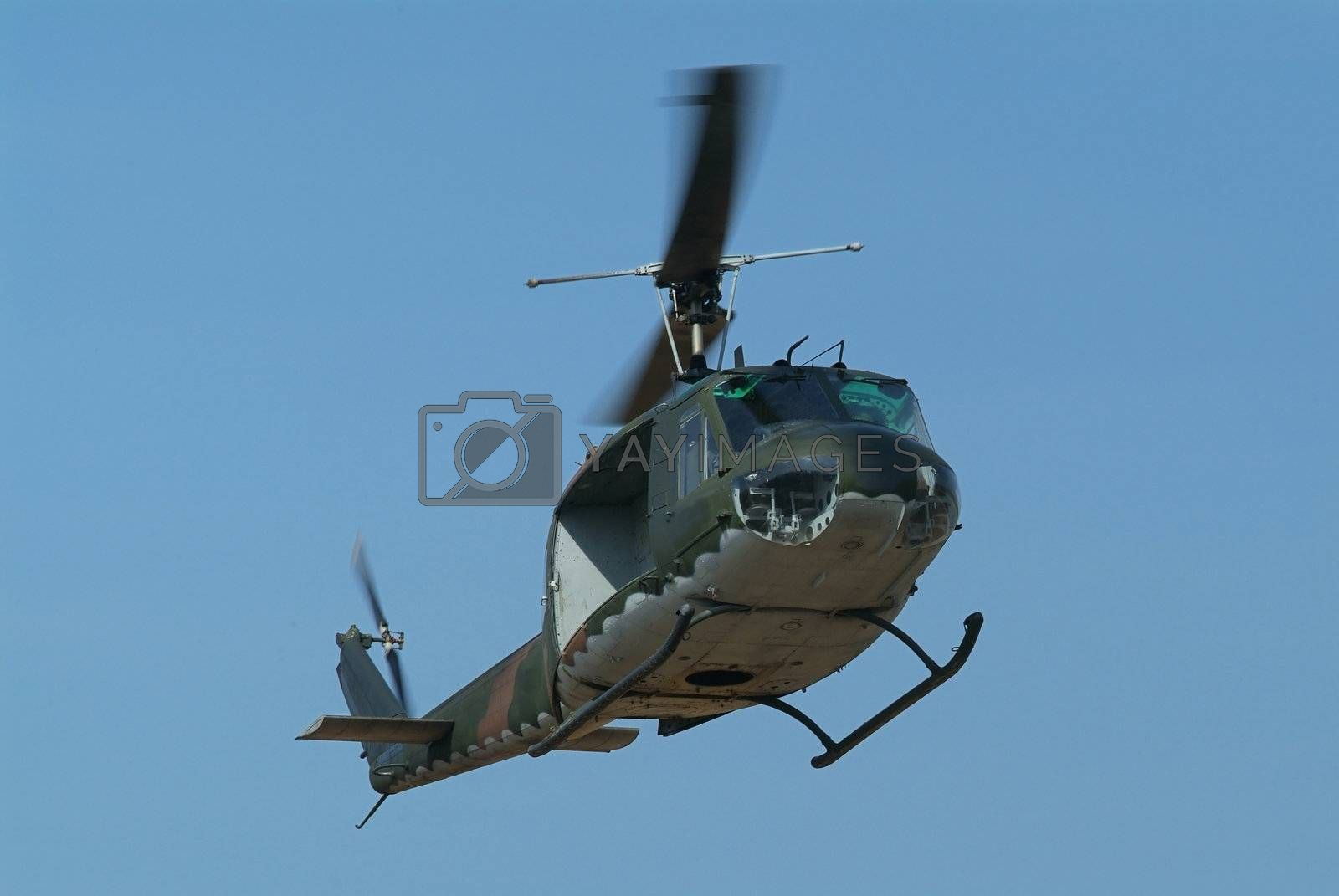 Military Helicopter by epixx