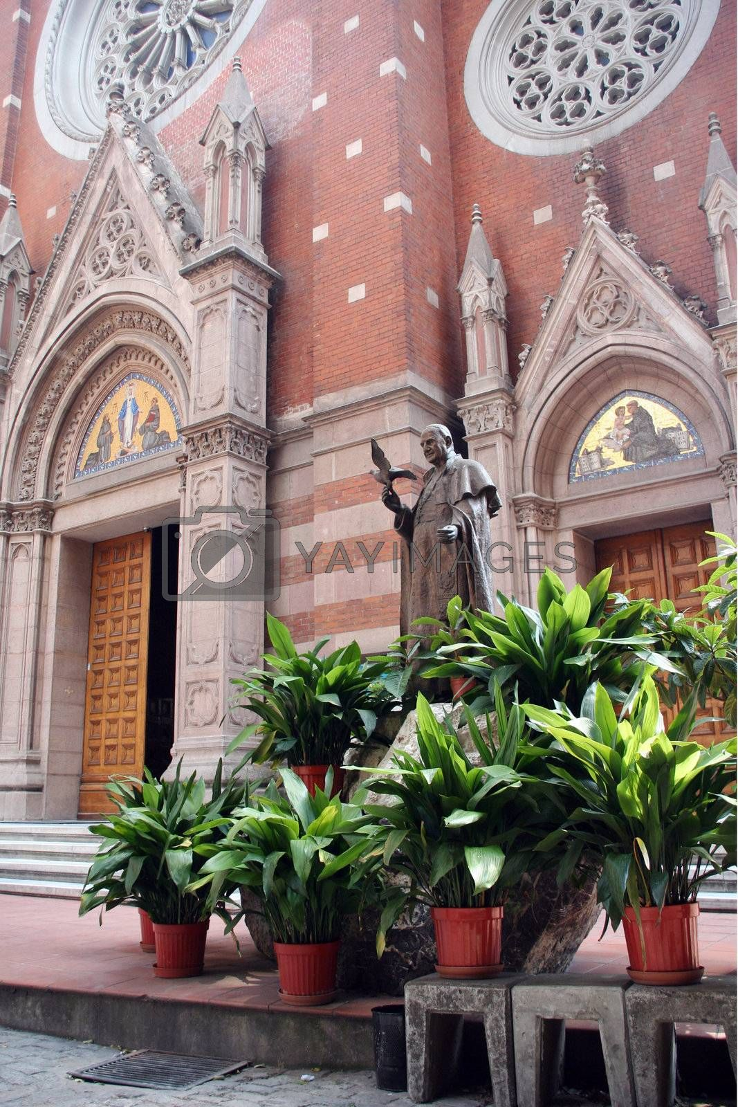 cathedral church architecture religion catholicism monument christ