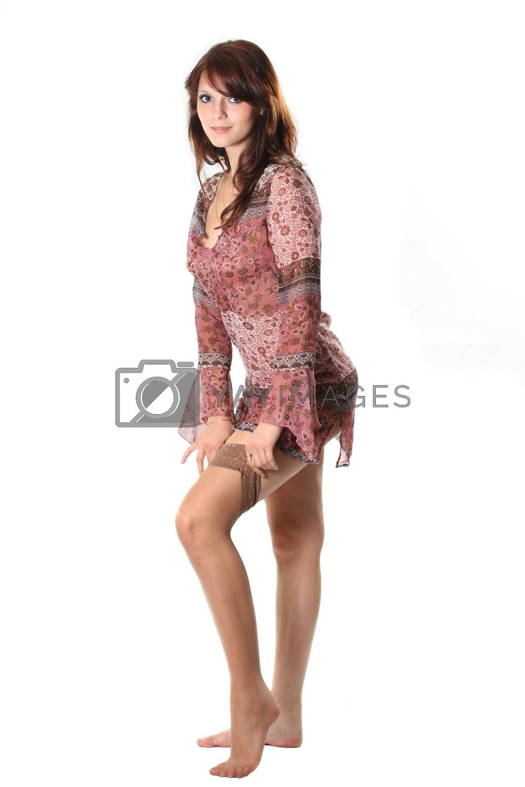 women beauty sensuality stockings sexual girl lingerie