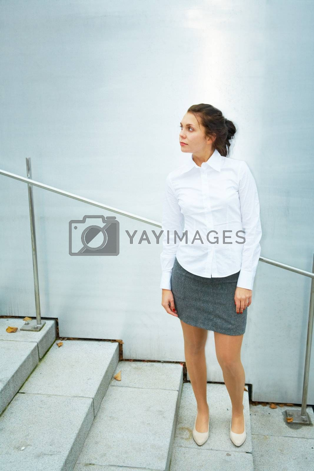 Royalty free image of Young Woman by Luminis