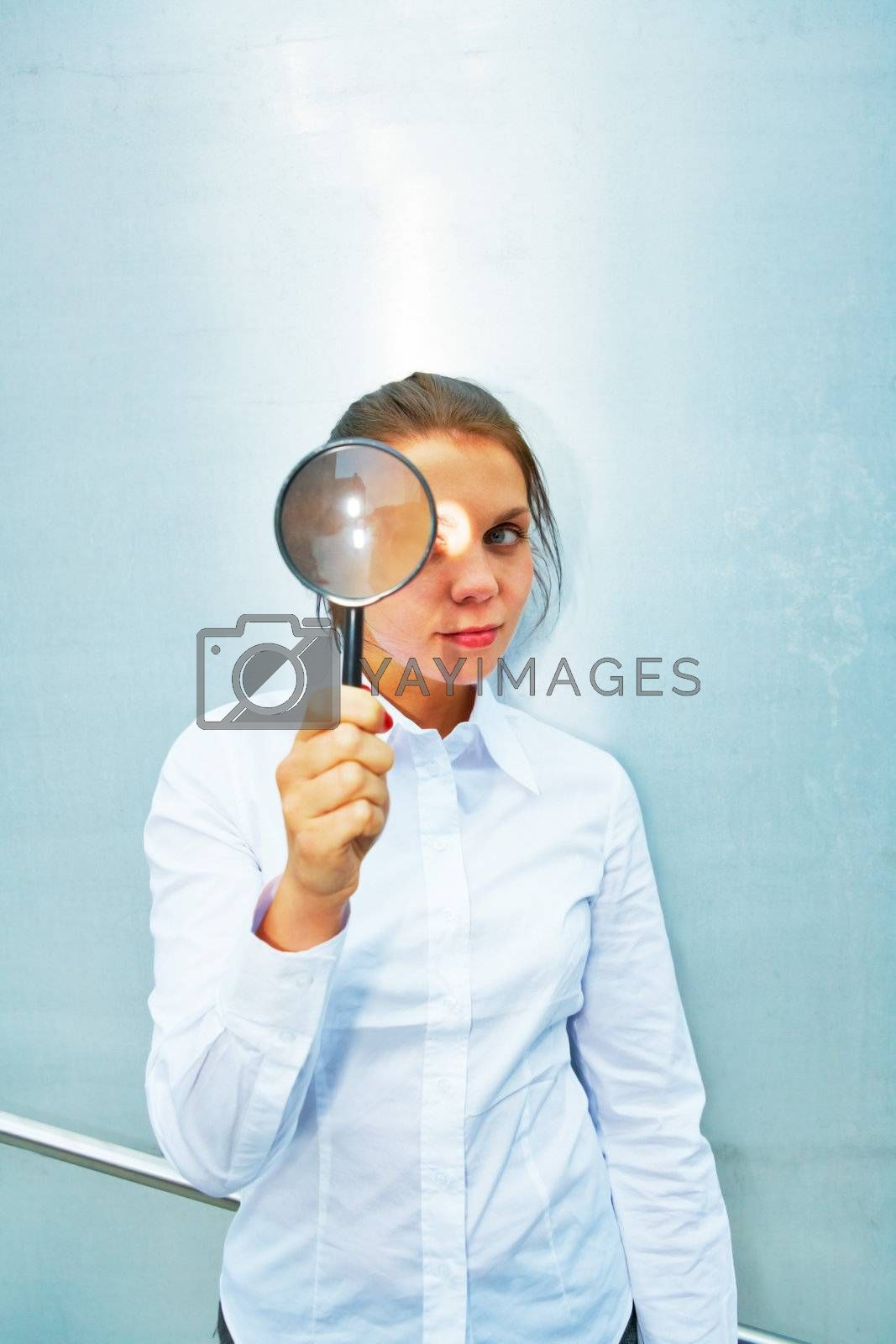 Royalty free image of Magnifying Glass by Luminis