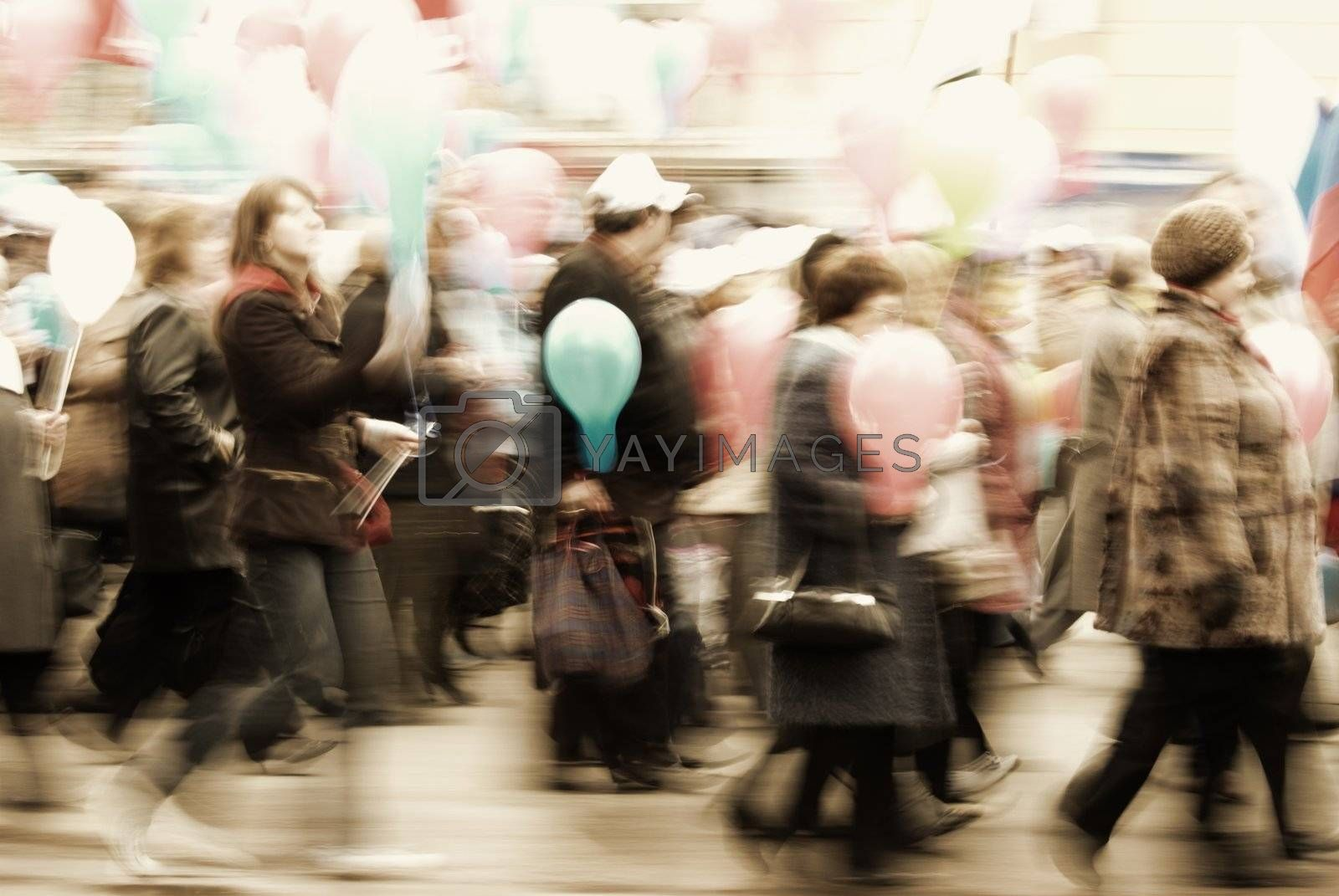 special photo toned and blur-motion f/x