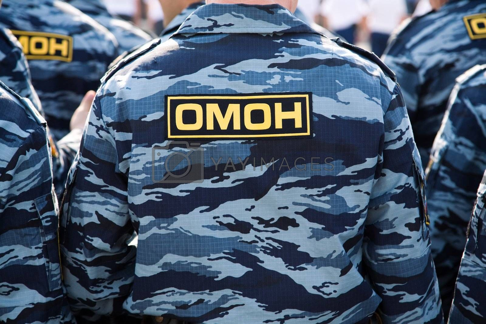 OMON (Russian special police squad) by Kuzma