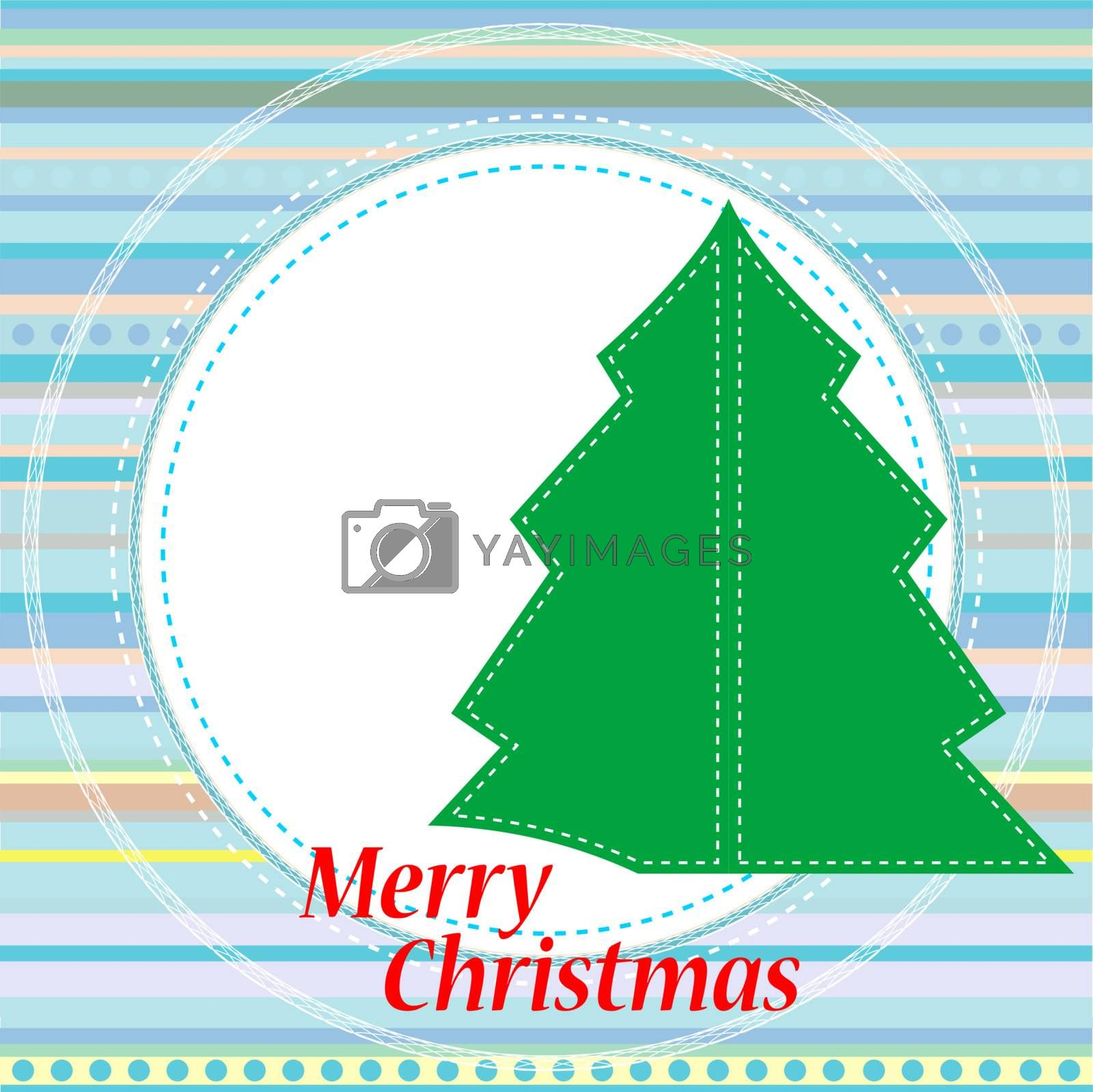 Vector background for new year and for Christmas