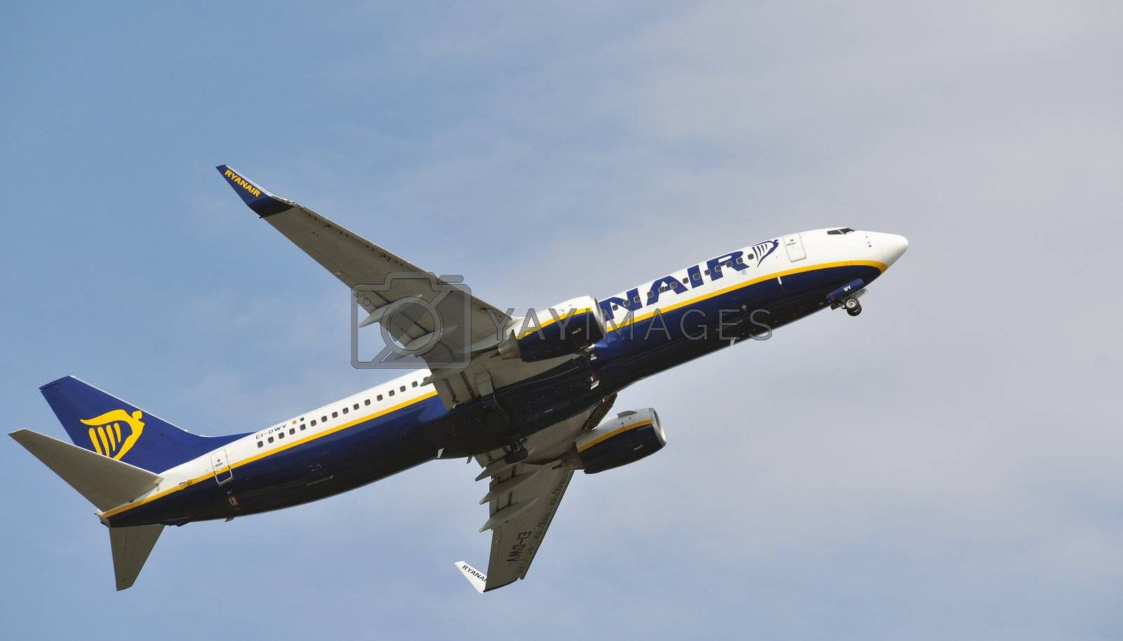 Airliner from Ryanair