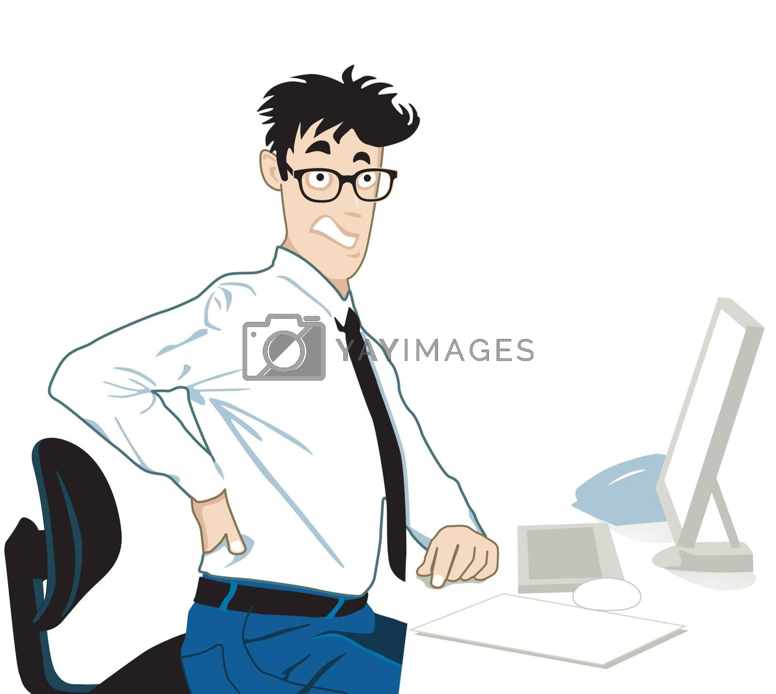 Back pain in the office