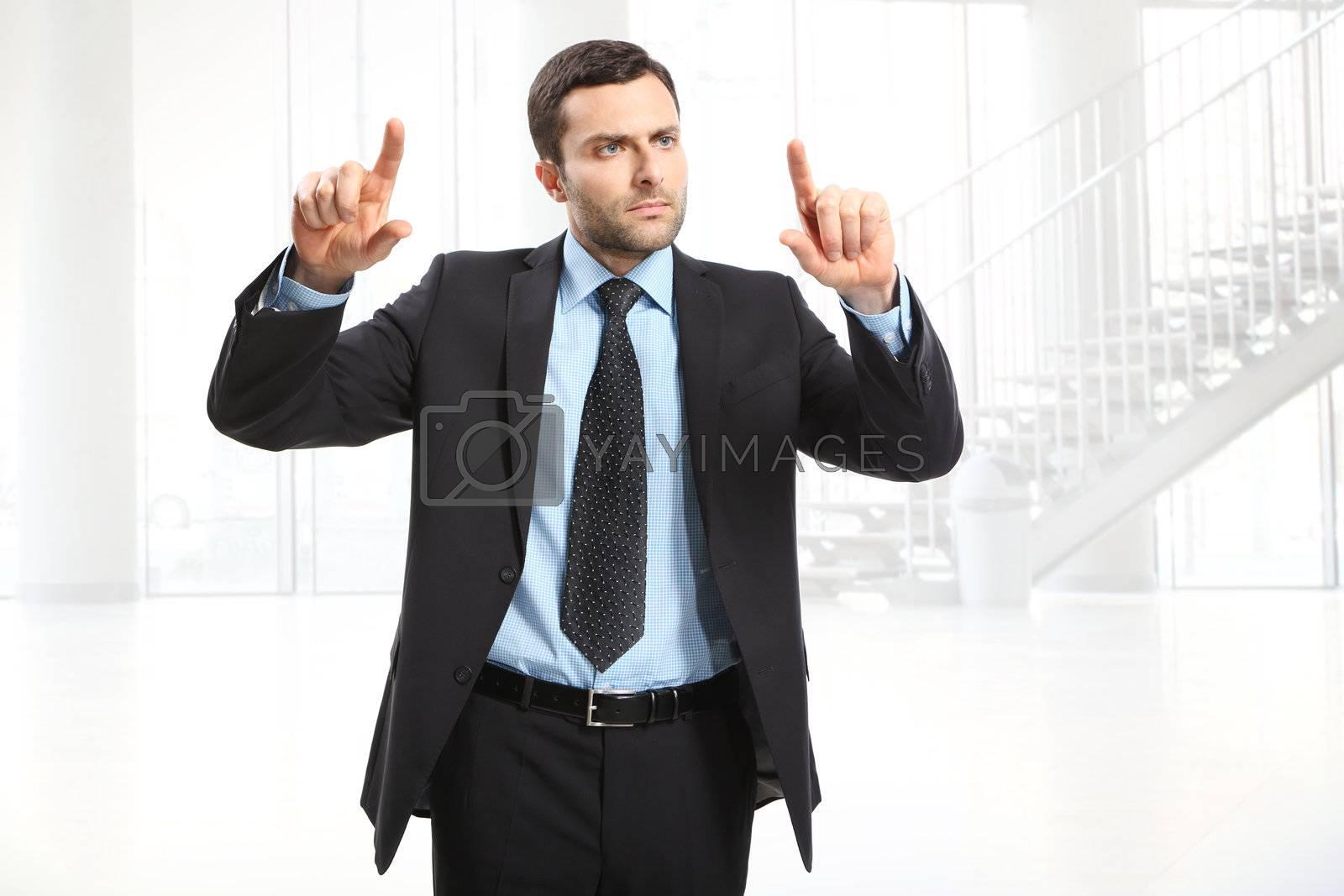 Portrait of a business man