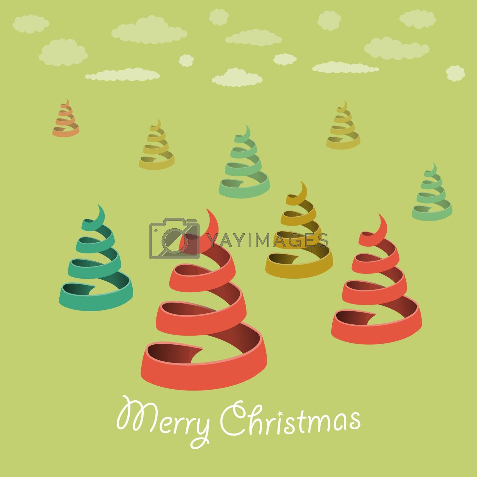 Christmas Vector Illustration for Xmas Holiday or Card Design
