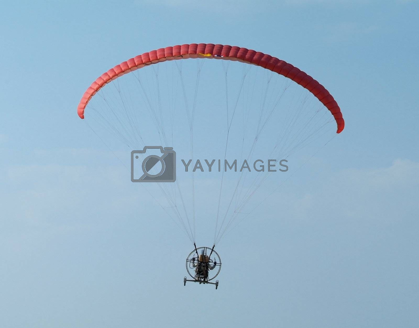 Paramotor flying by epixx