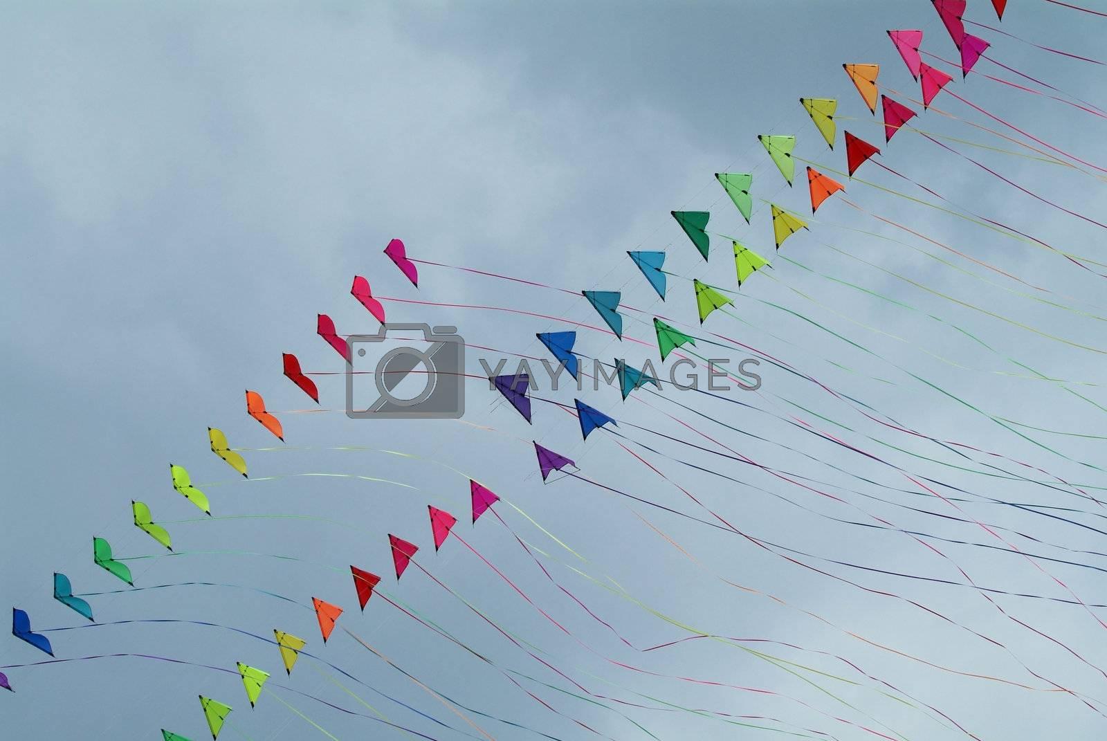 Colourful kites by epixx