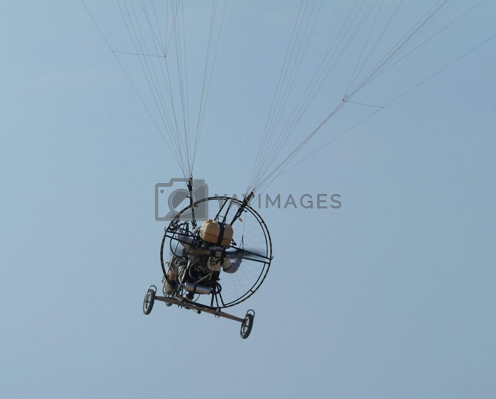 Paramotor flying by epixx