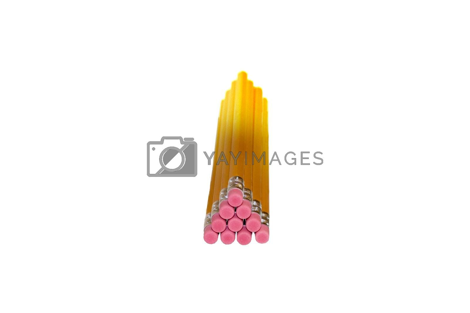 Isolated Pencils in a Pyramid  by mwp1969