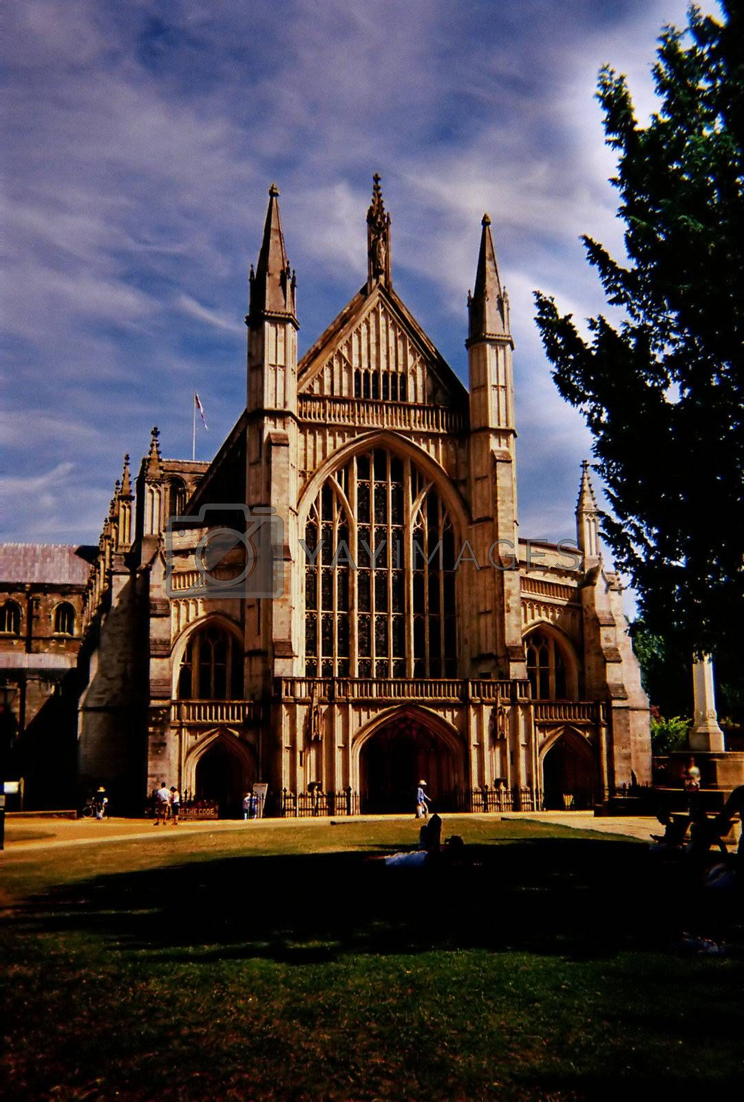 Winchester Cathedral v1 by mwp1969
