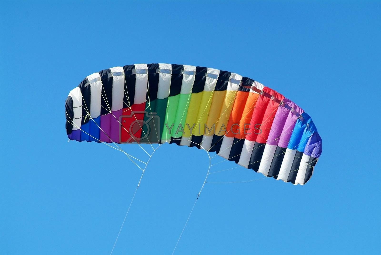 Colourful kite by epixx