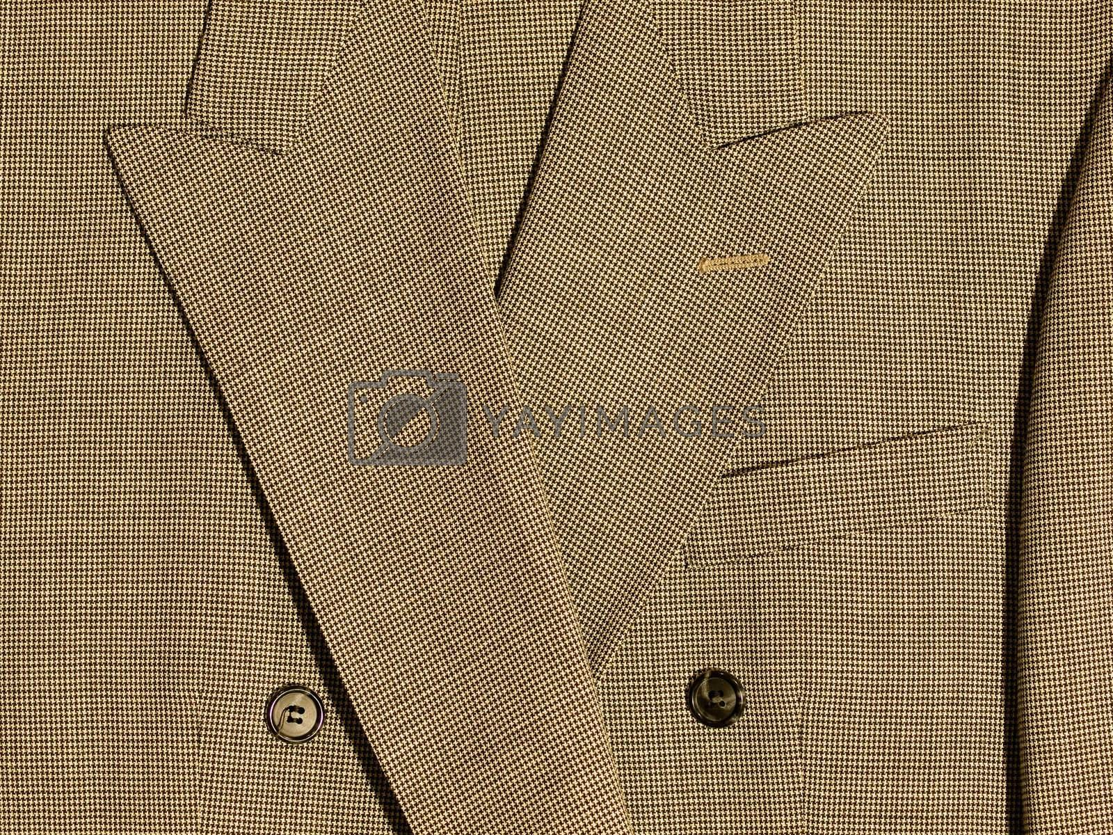 Full Frame Background of Fabric and Detail from Mens Suits
