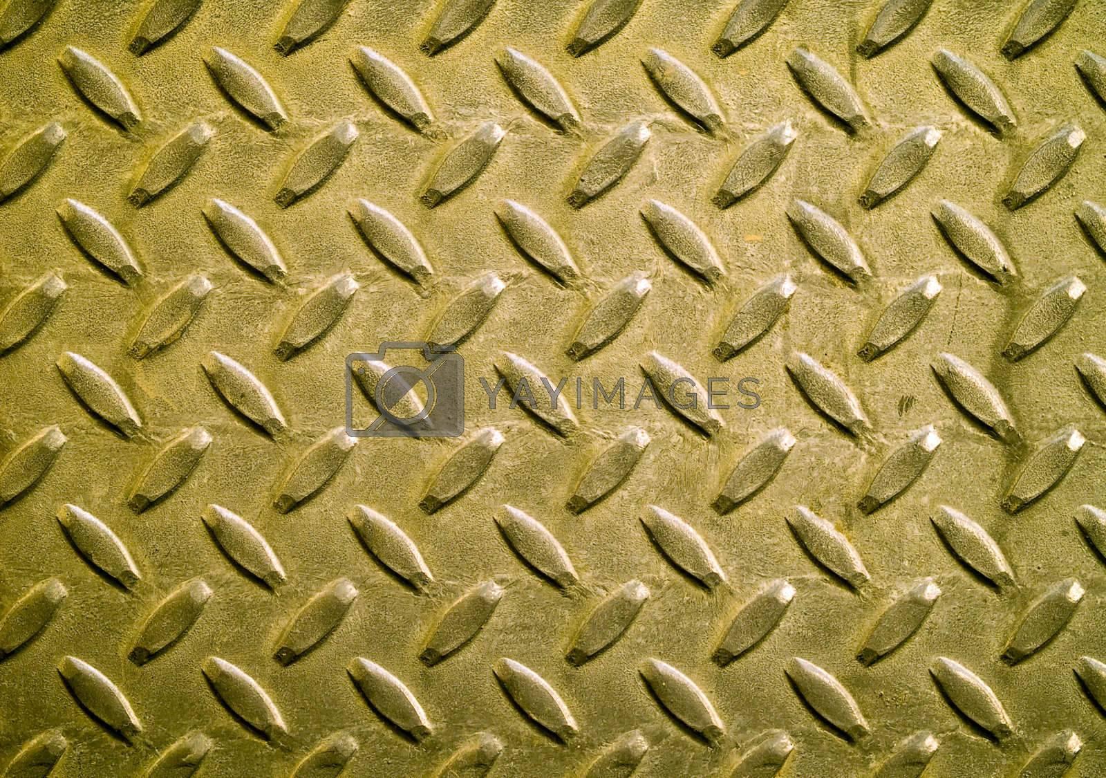 Diamond Metal Background Texture by Frank L Junior