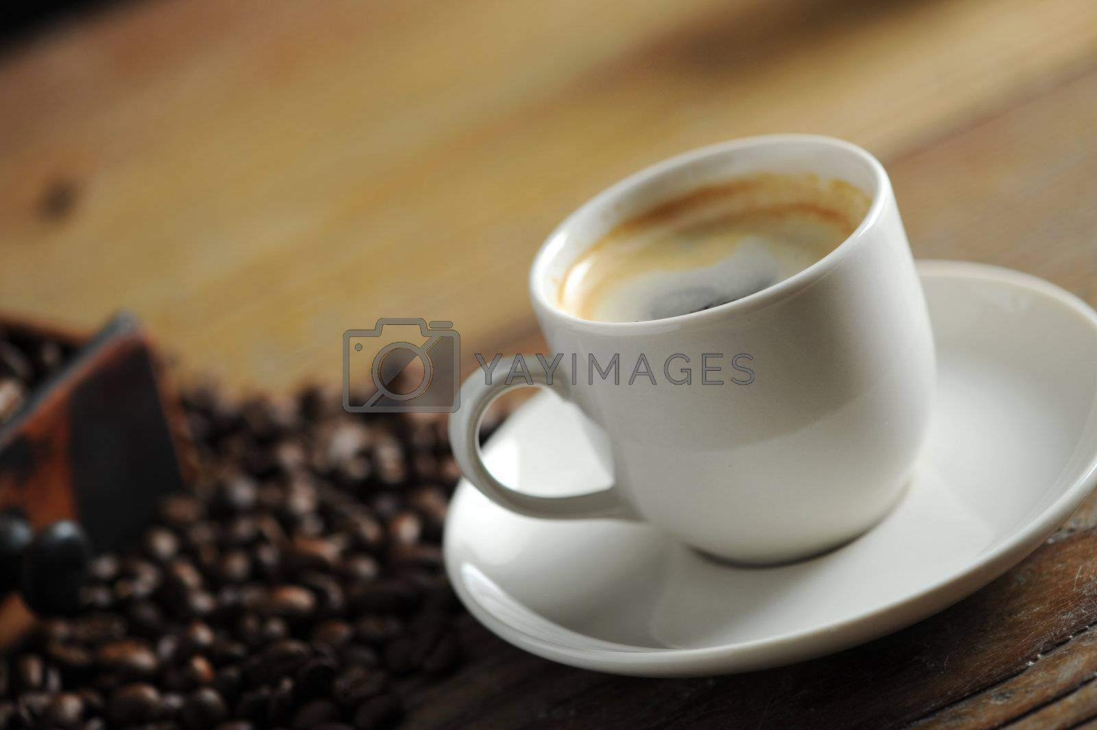 cup of coffee close up